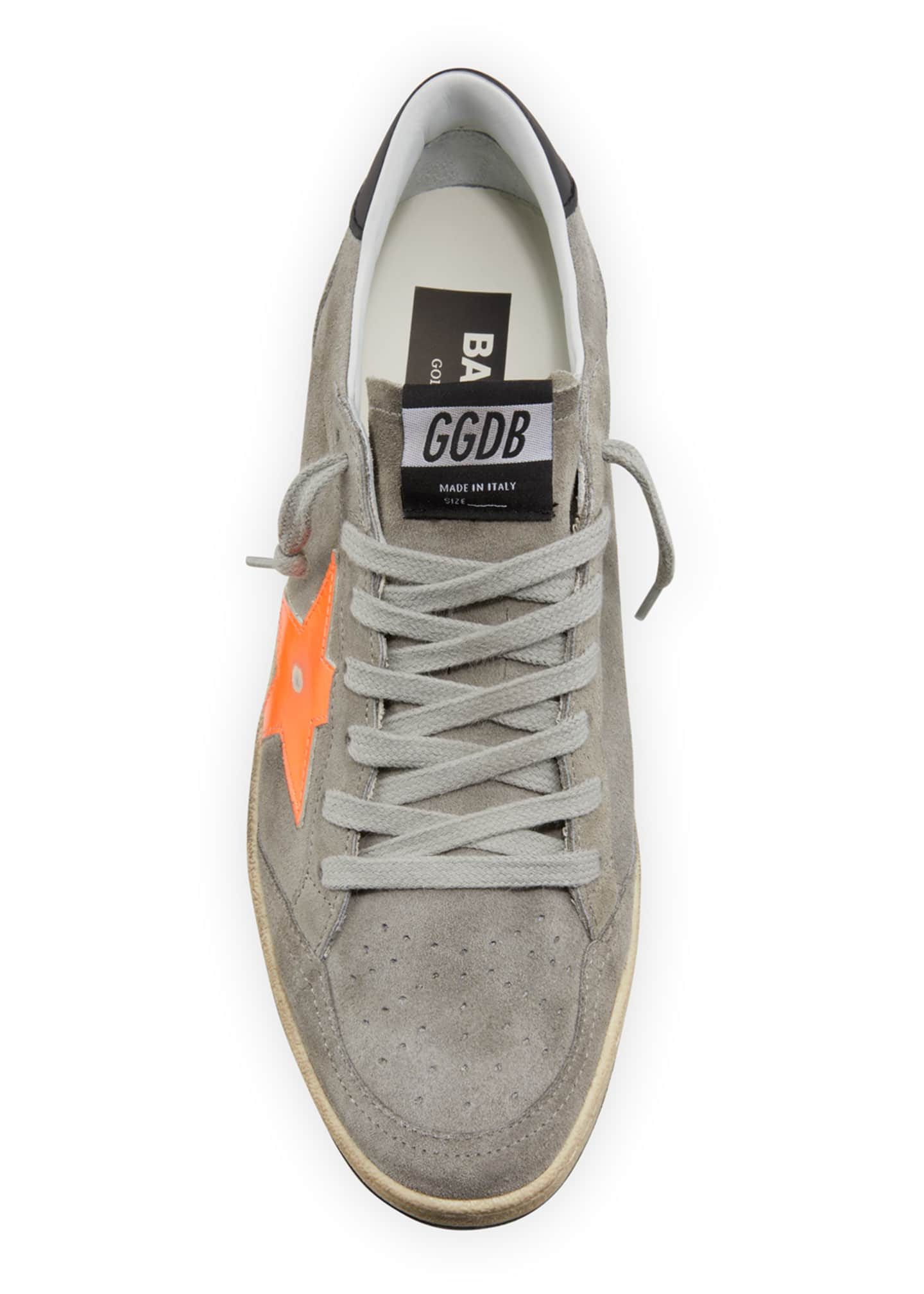 Image 3 of 4: Men's Ball Star Vintage Suede Sneakers