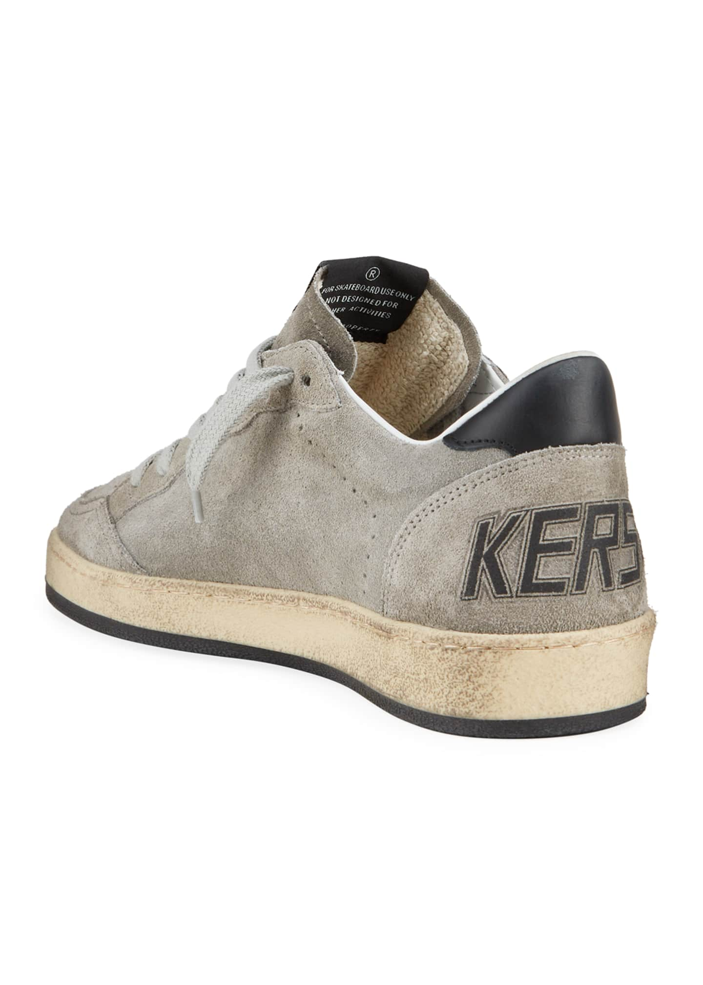 Image 4 of 4: Men's Ball Star Vintage Suede Sneakers