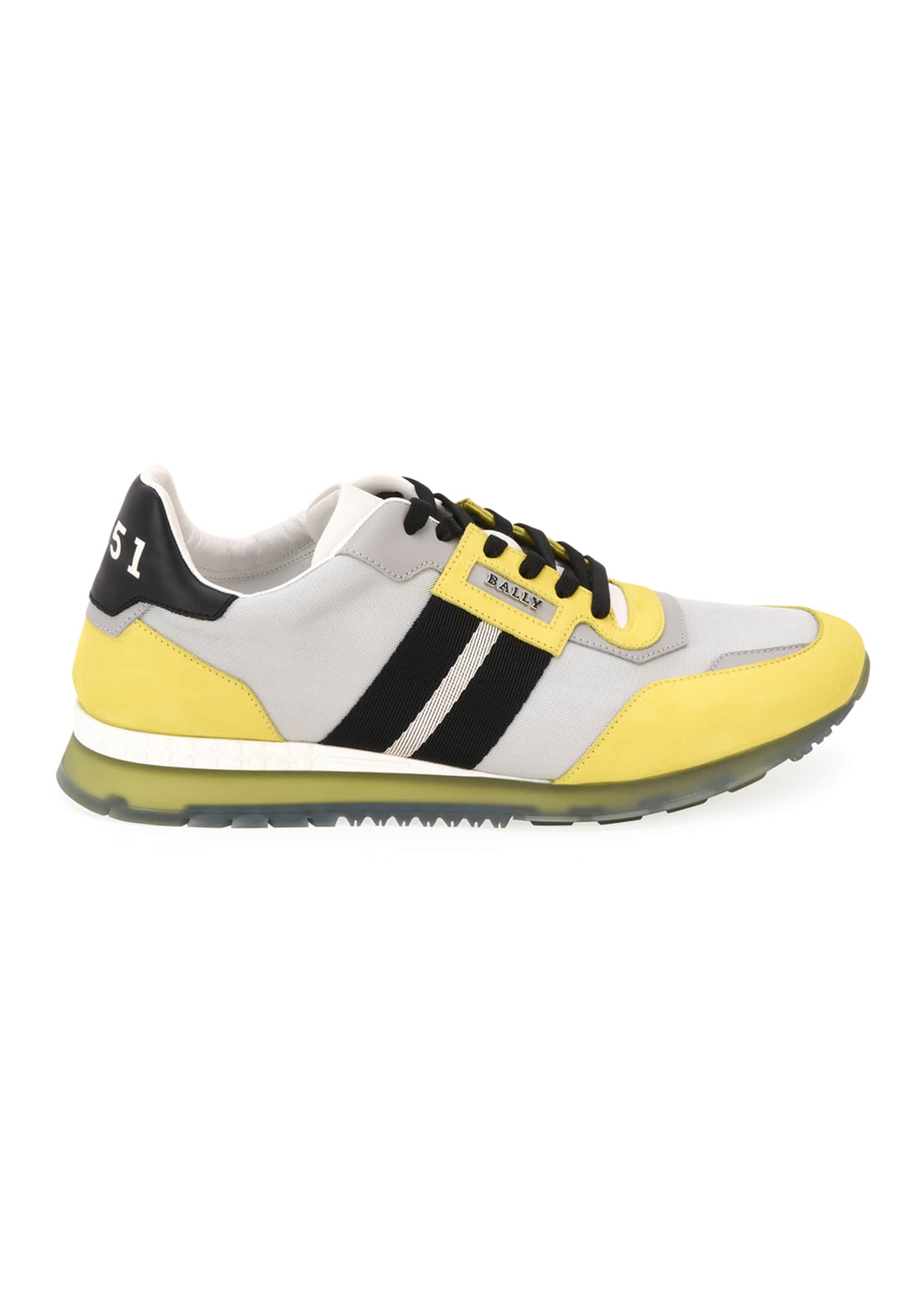 Image 2 of 5: Men's Astfeld Colorblock Trainspotting-Stripe Sneakers