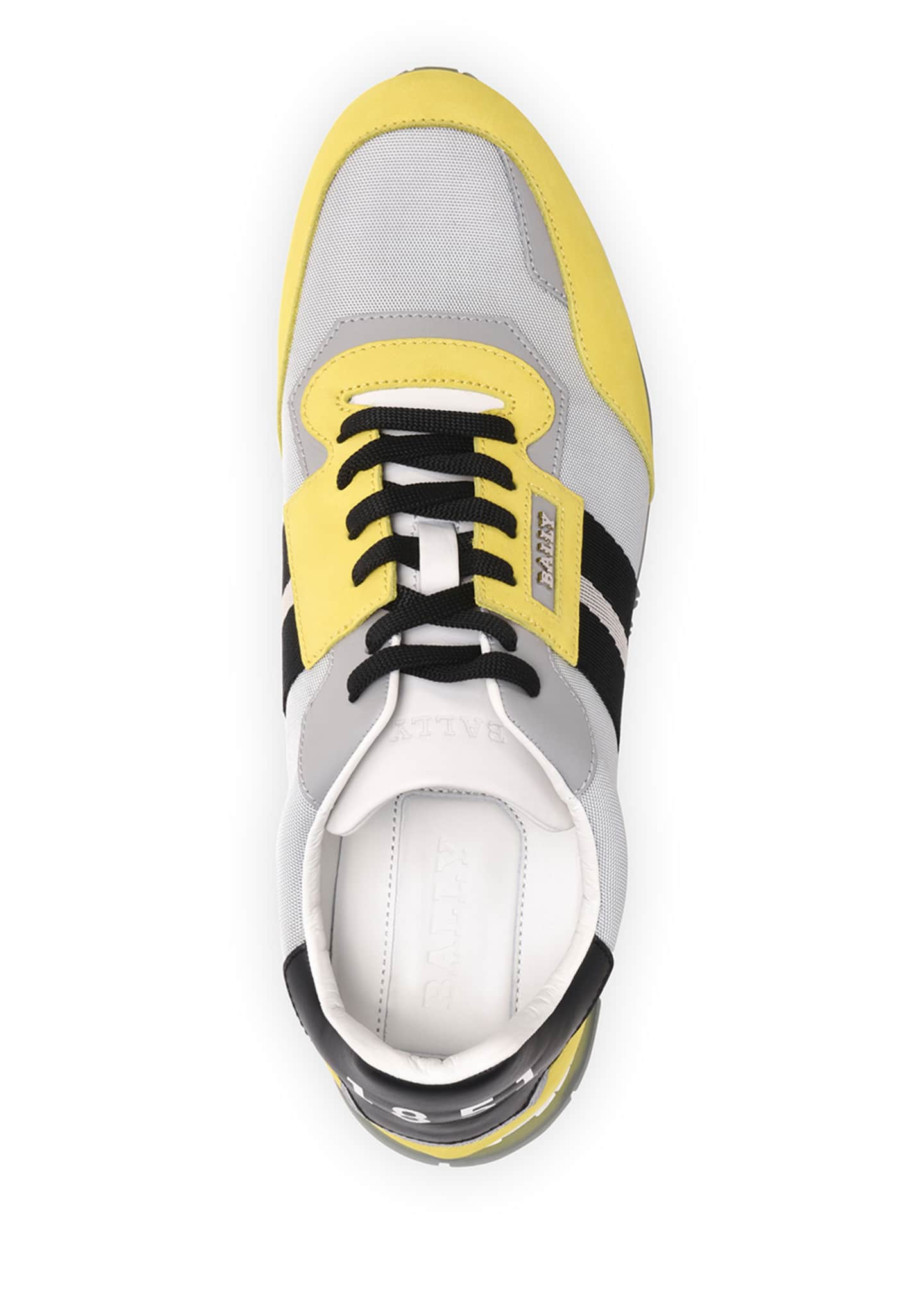 Image 3 of 5: Men's Astfeld Colorblock Trainspotting-Stripe Sneakers
