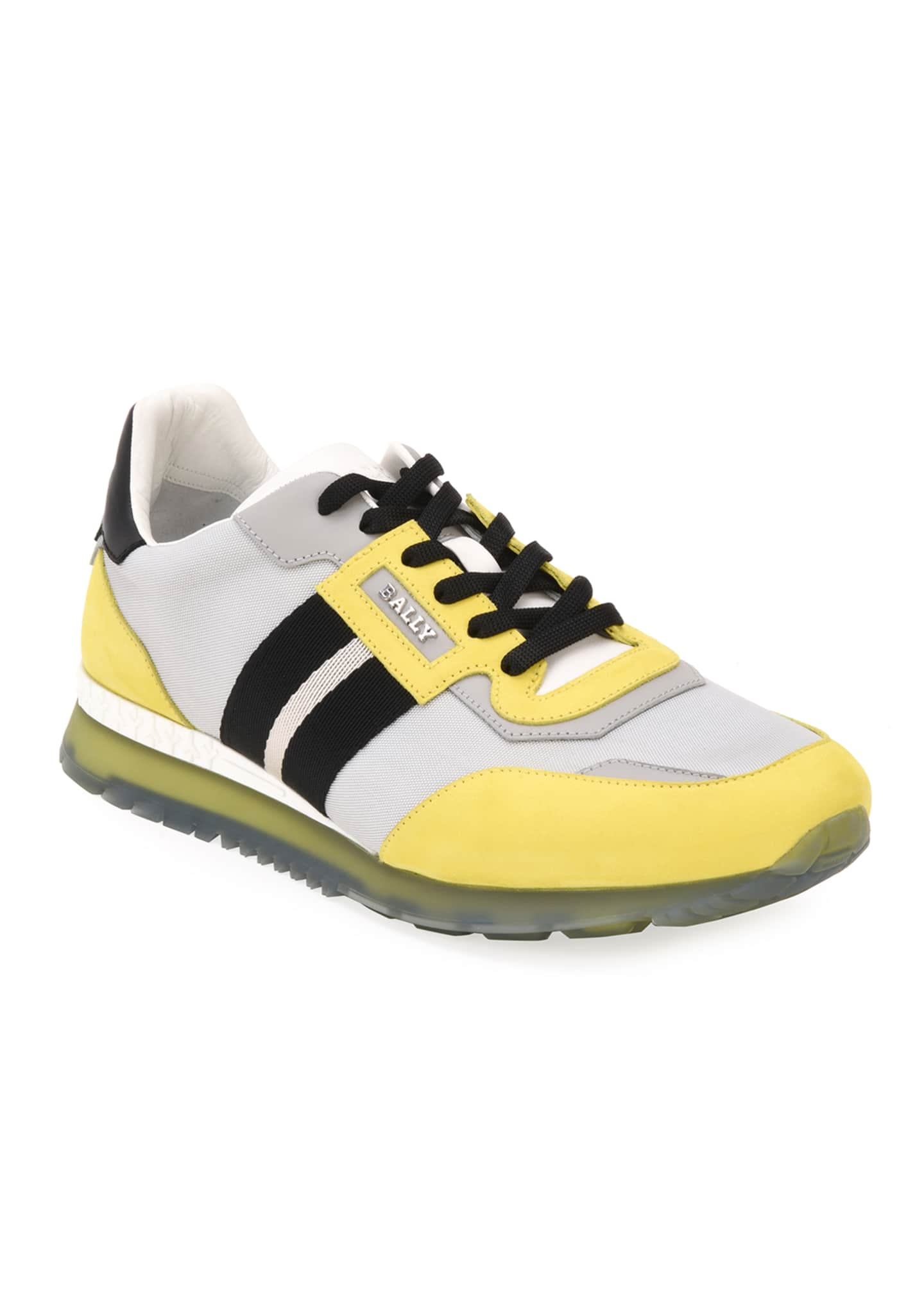 Image 1 of 5: Men's Astfeld Colorblock Trainspotting-Stripe Sneakers