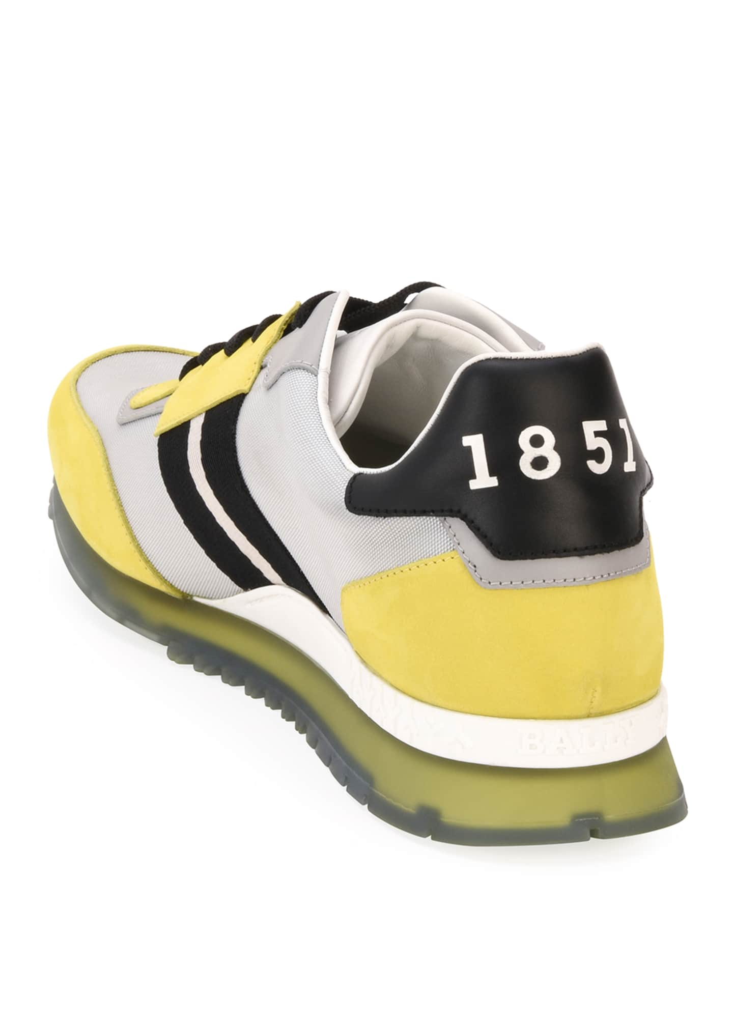 Image 5 of 5: Men's Astfeld Colorblock Trainspotting-Stripe Sneakers