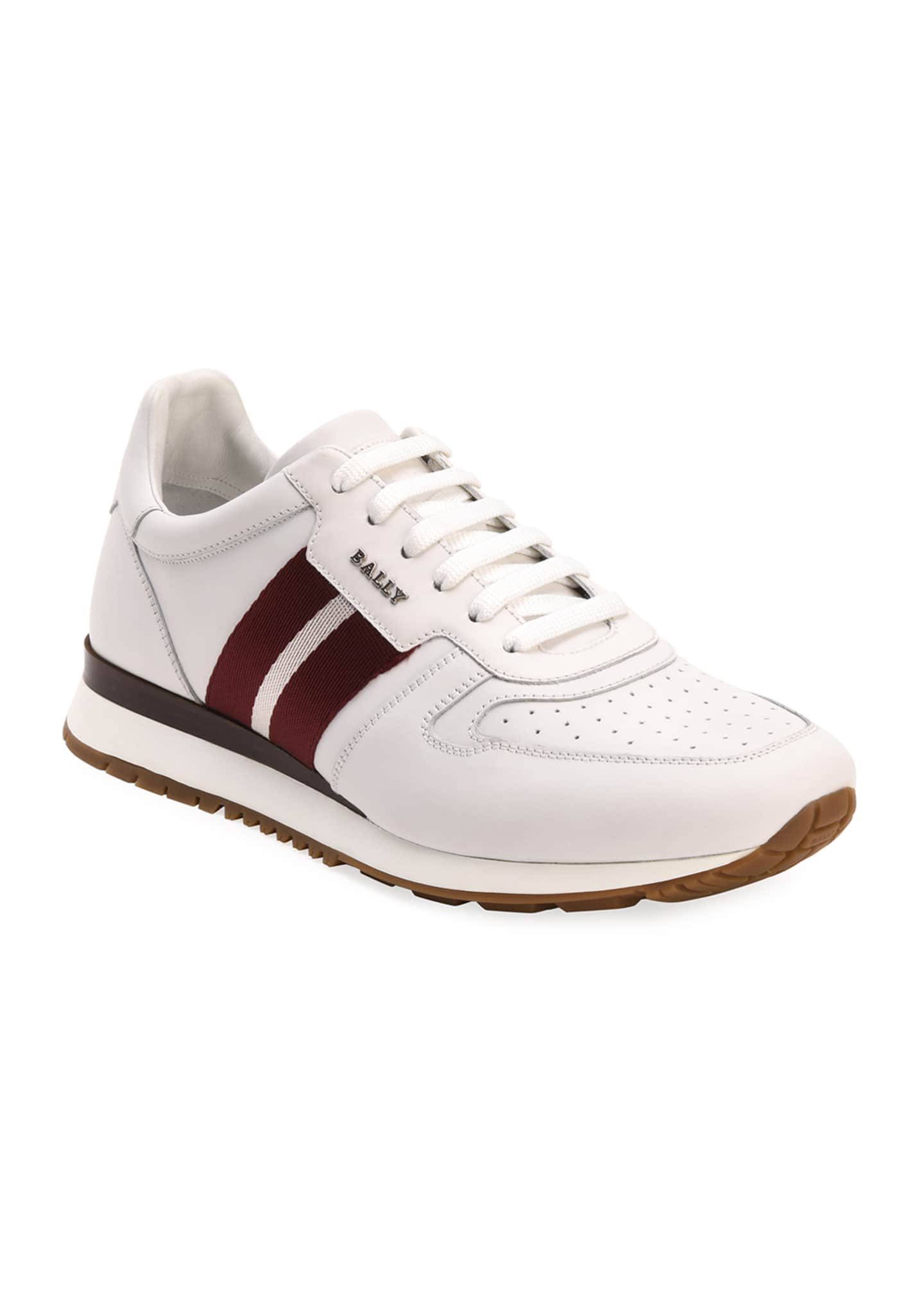 Image 2 of 4: Men's Astel Trainspotting Leather Runner Sneakers