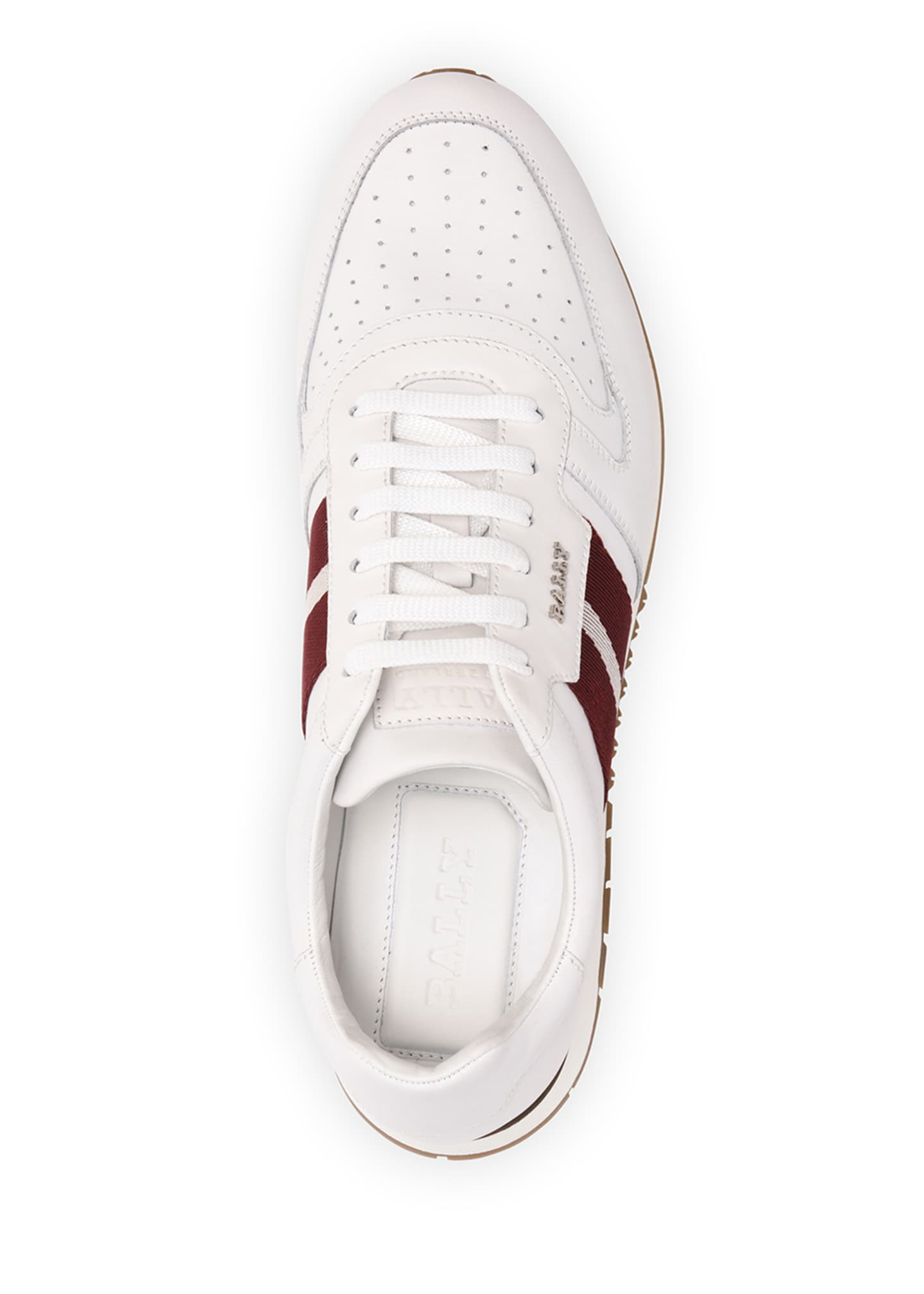 Image 3 of 4: Men's Astel Trainspotting Leather Runner Sneakers