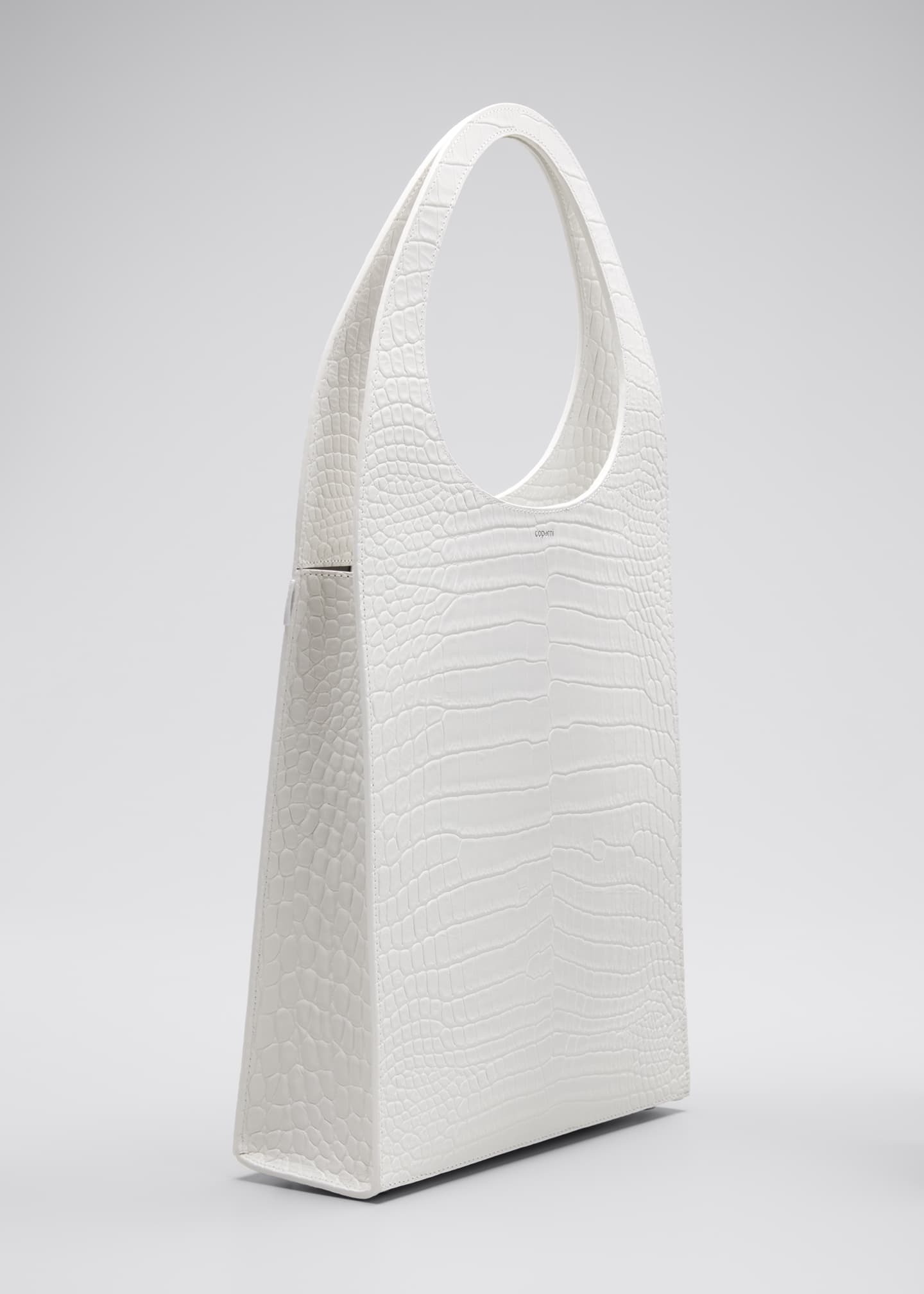 Image 3 of 5: Swipe Mock-Croc Tote Bag