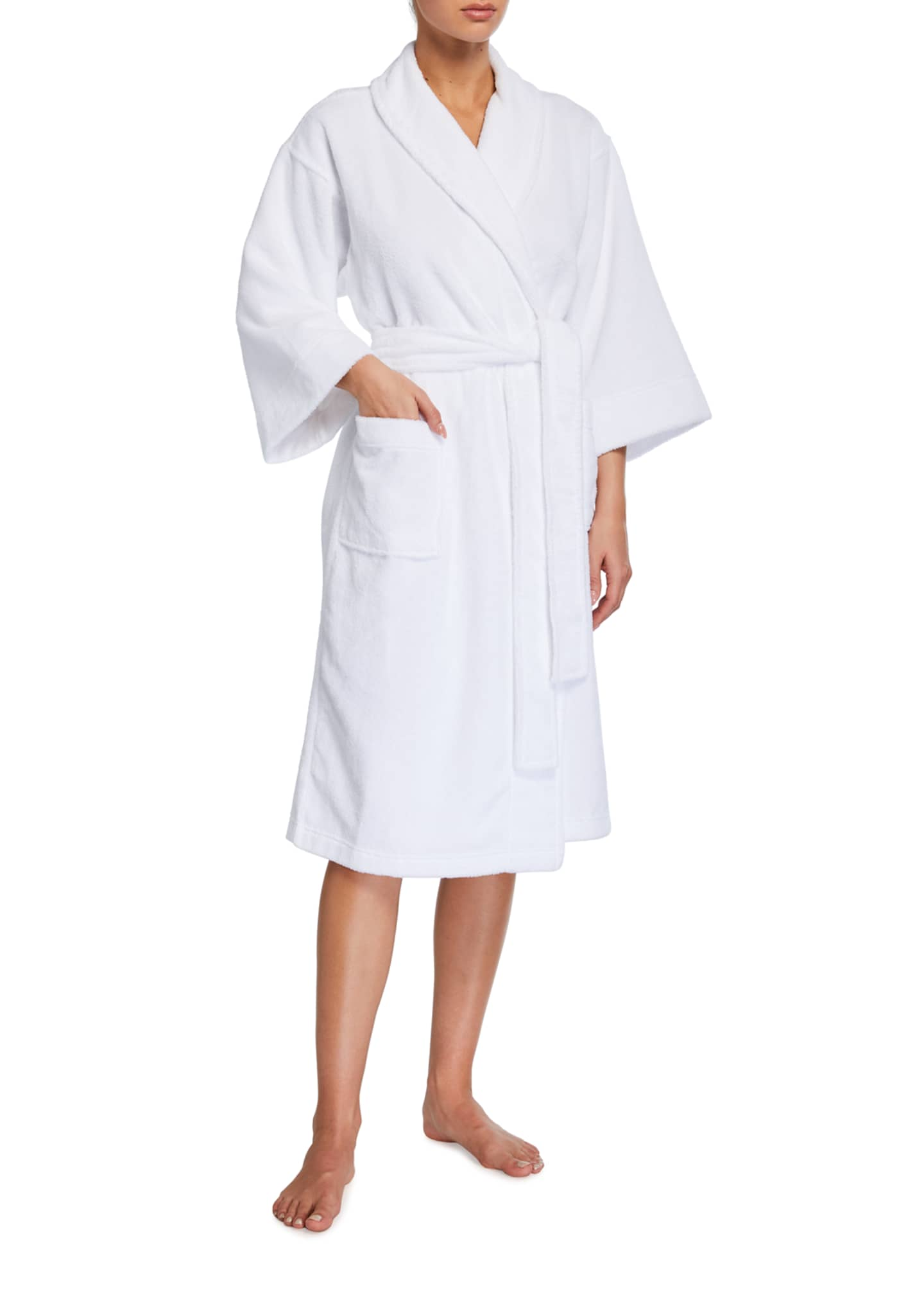 Image 1 of 2: Beach Terry Robe