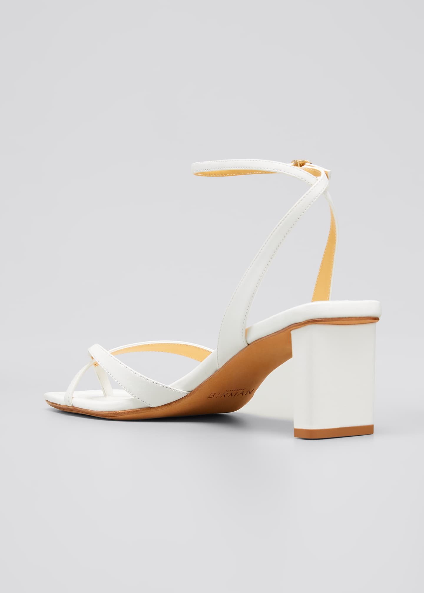 Image 3 of 4: Nelly Crisscross Square-Toe Sandals