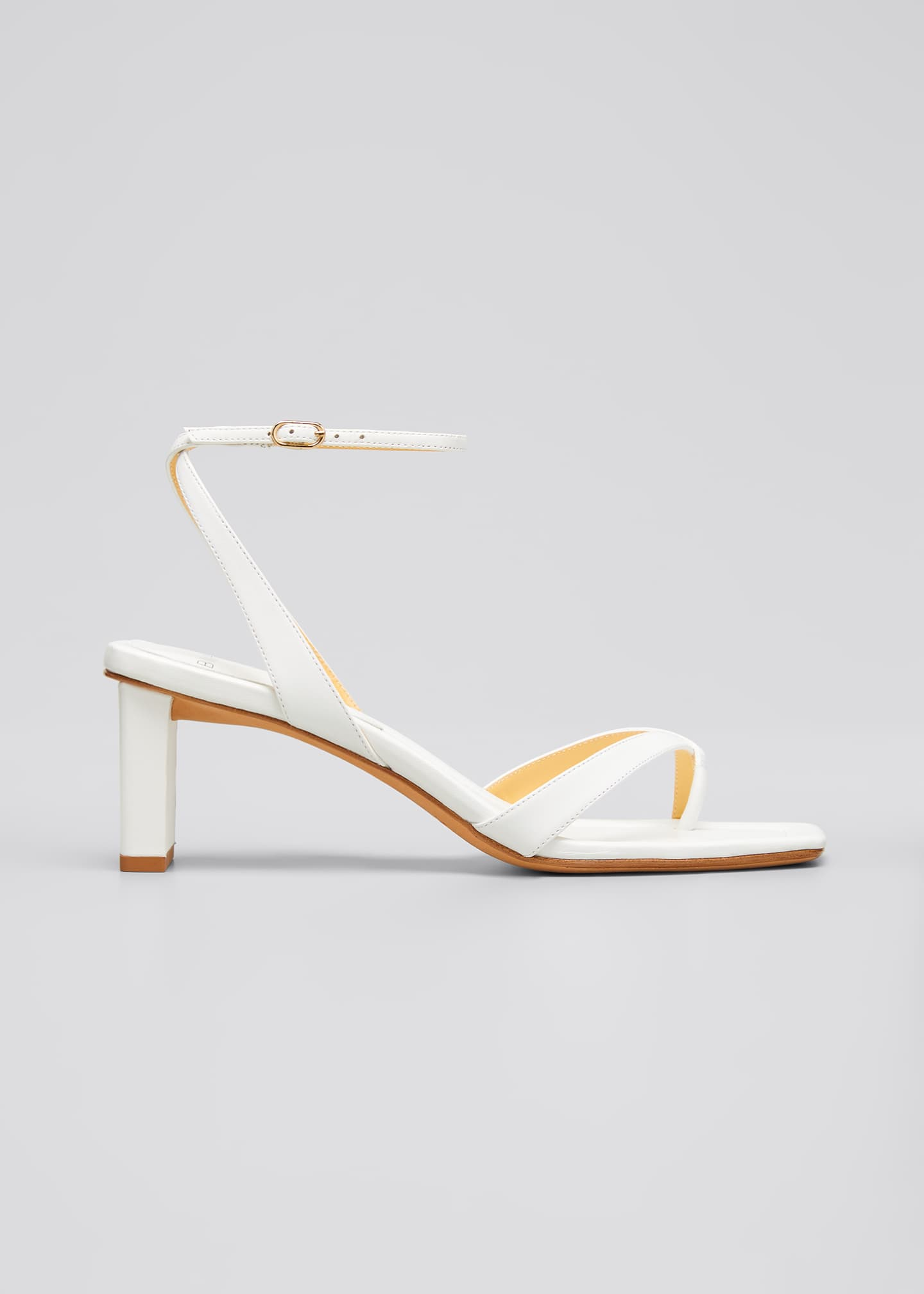 Image 1 of 4: Nelly Crisscross Square-Toe Sandals
