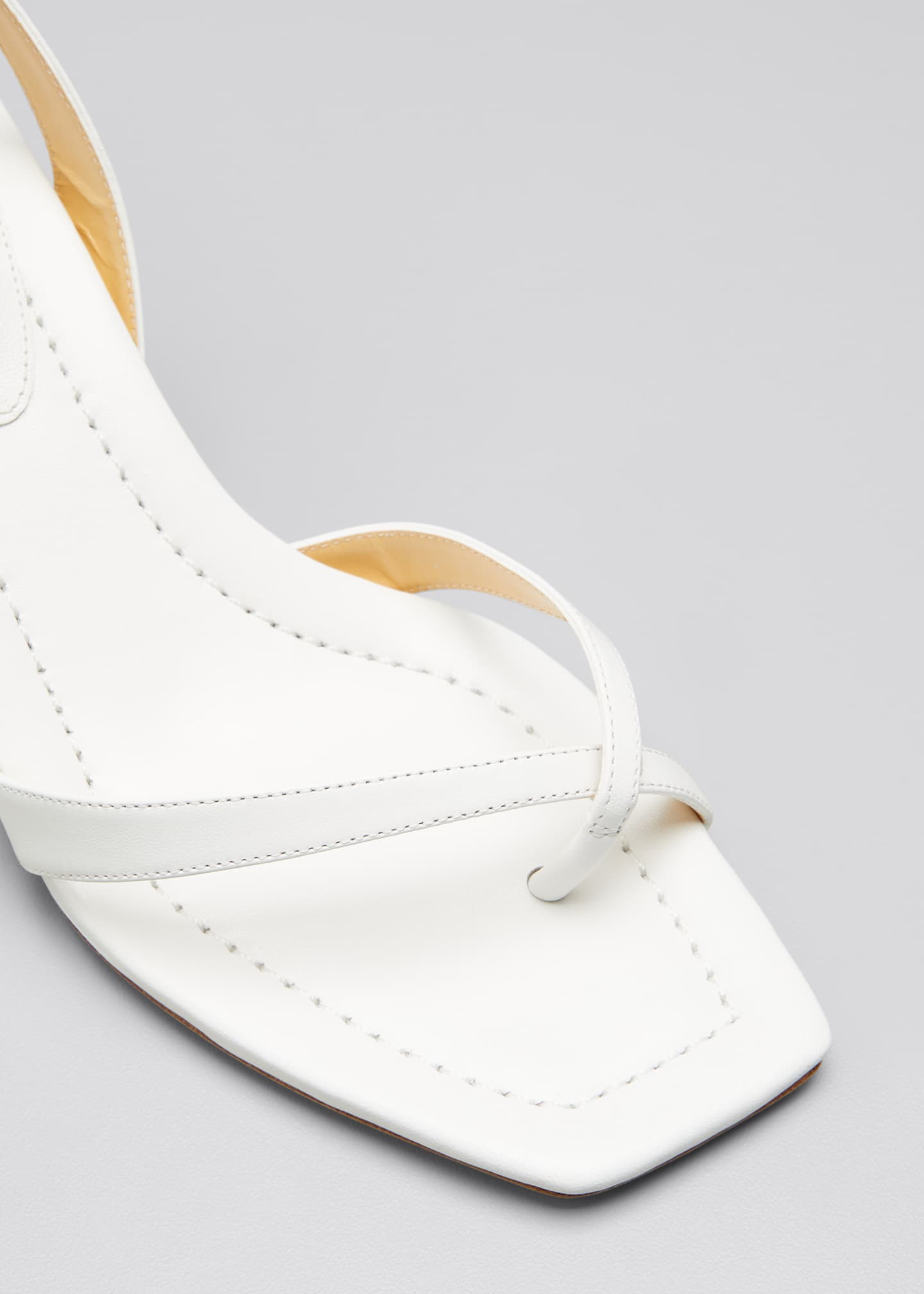 Image 4 of 4: Nelly Crisscross Square-Toe Sandals
