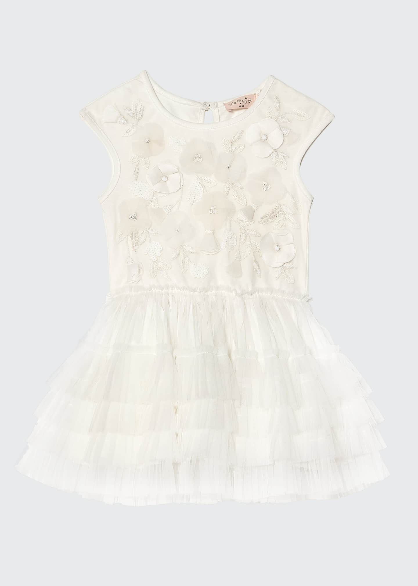 Image 1 of 3: Girl's Strawberry Fields Tutu Dress, Size 6-24 Months