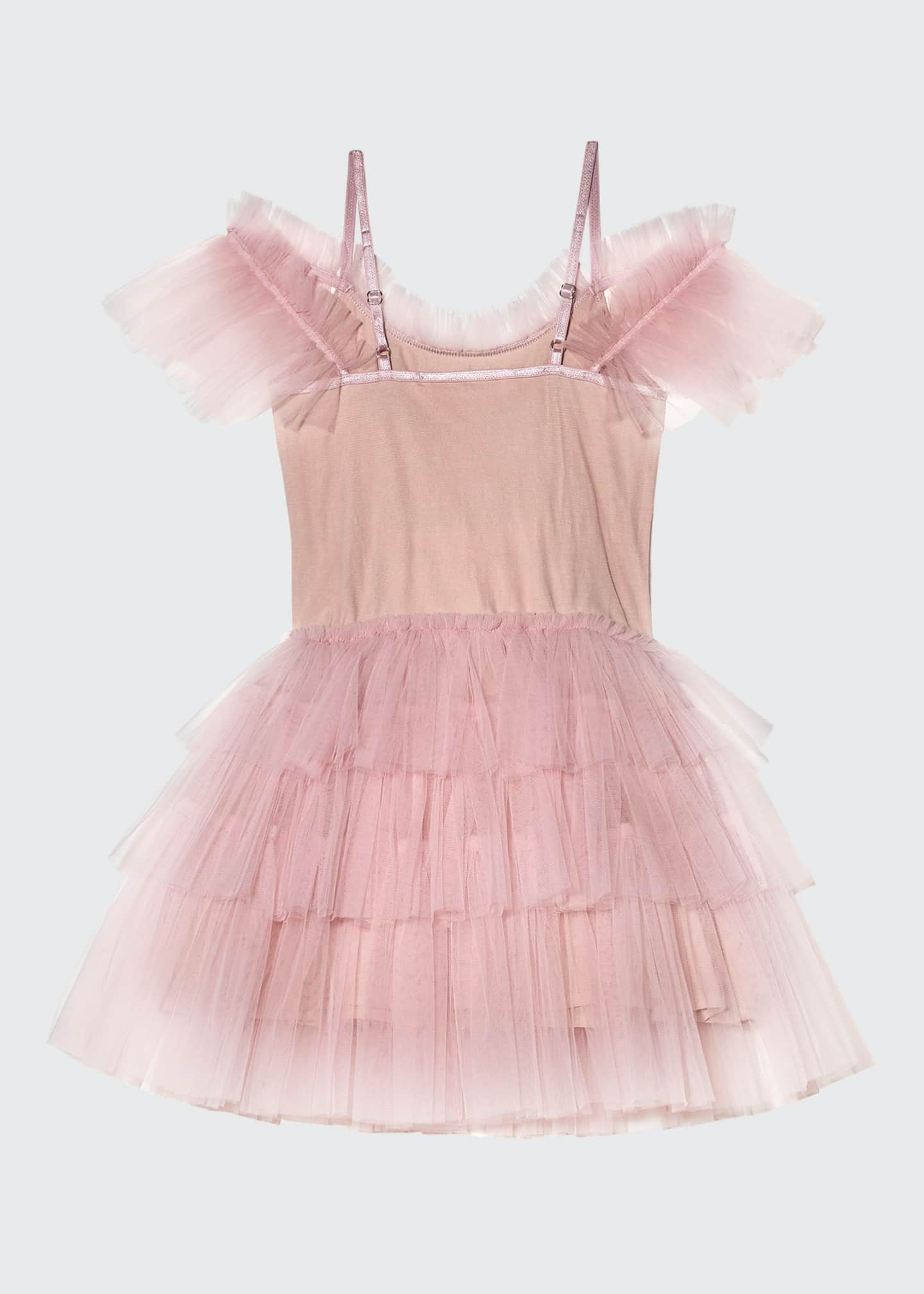Image 3 of 3: Girl's Gypsy Sequin Ruffle Tutu Dress, Size 2-11