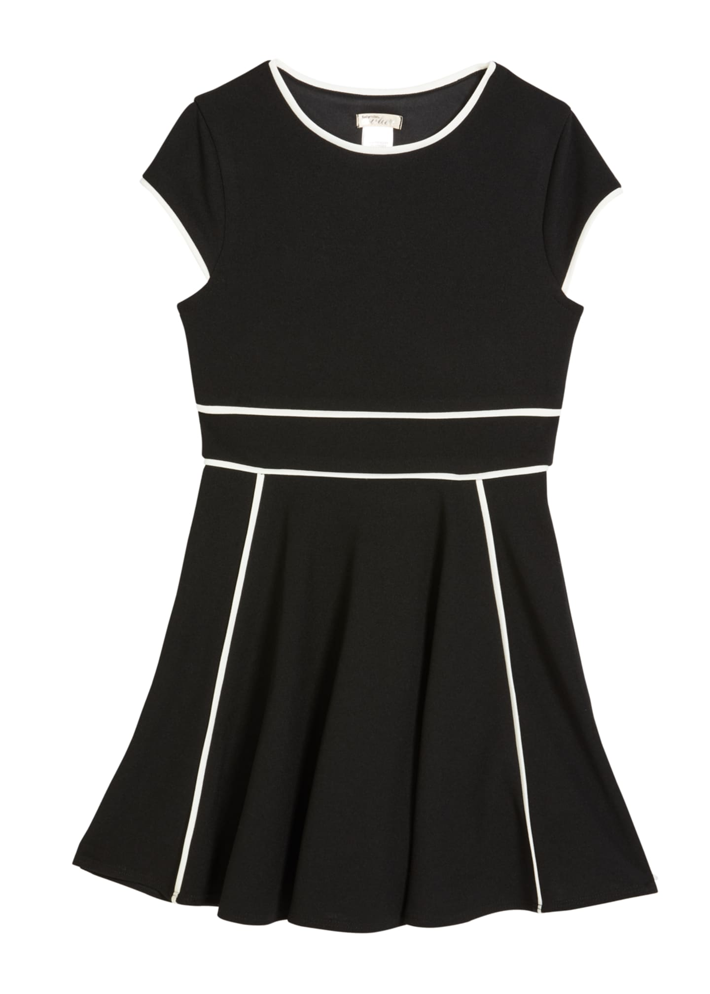 Image 1 of 1: Girl's The Tiffany Stretch Crepe Dress, Size S-XL
