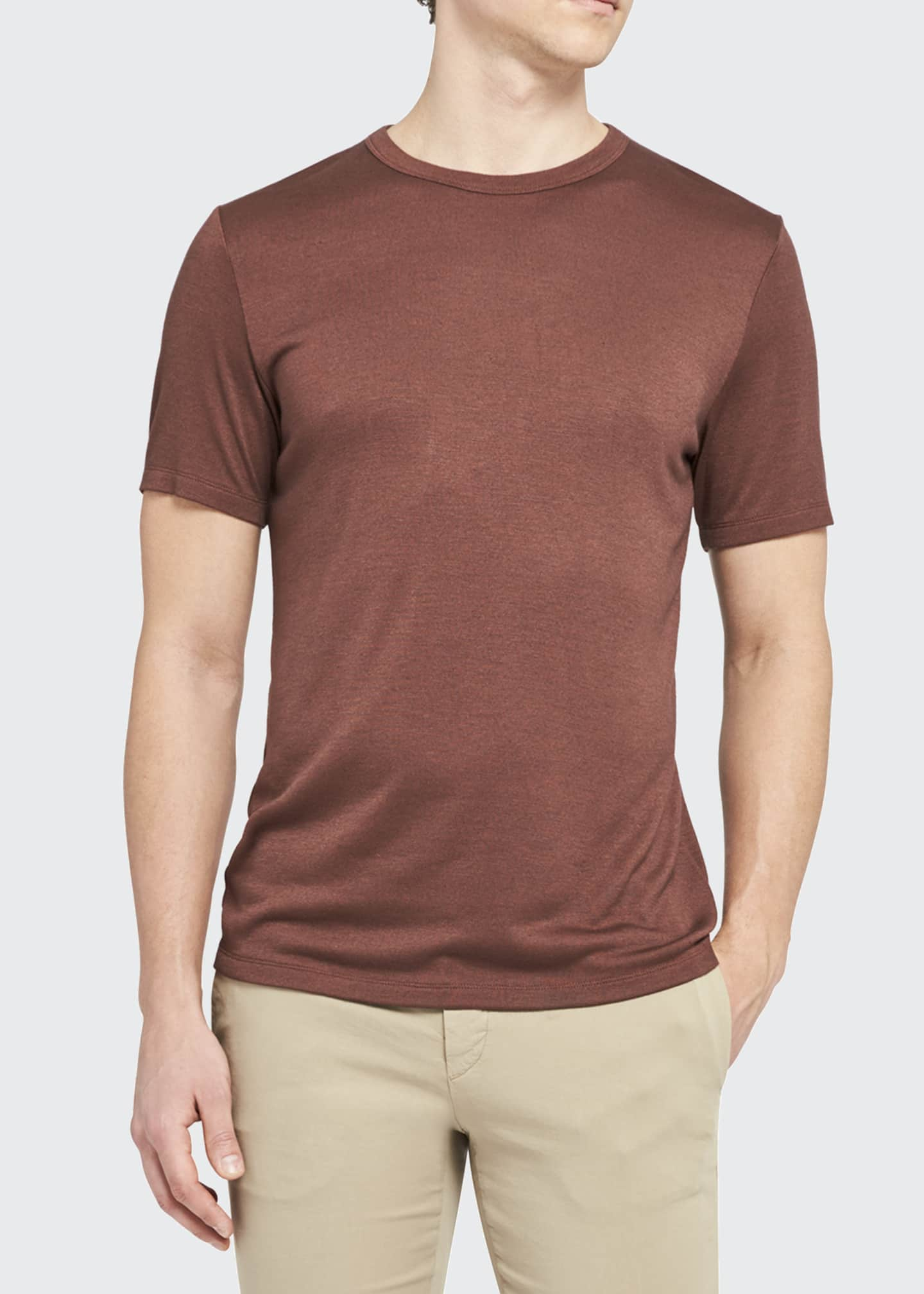 Image 3 of 3: Men's Anemone Essential T-Shirt