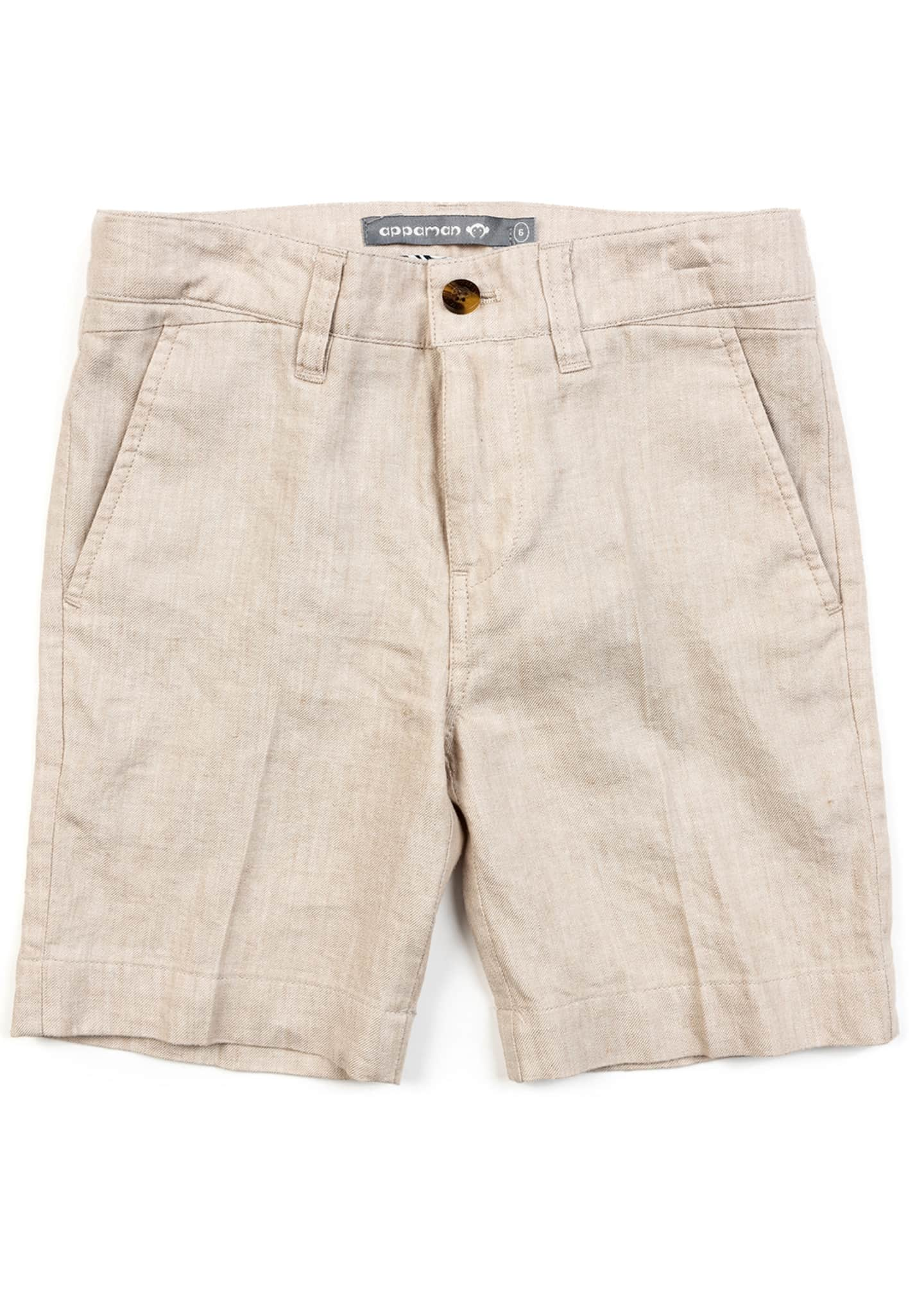 Image 1 of 1: Boy's Trouser Shorts, Size 2-14