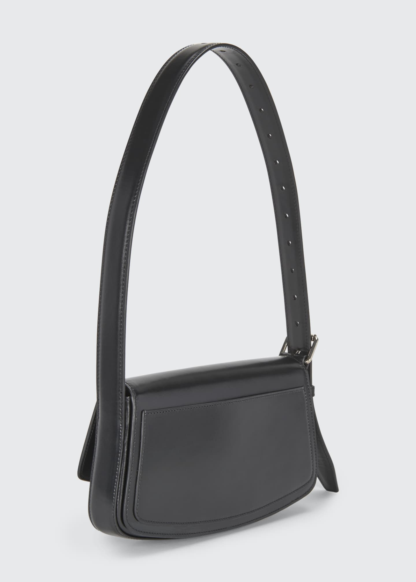 Image 3 of 5: Ghost Flap-Top Shoulder Bag
