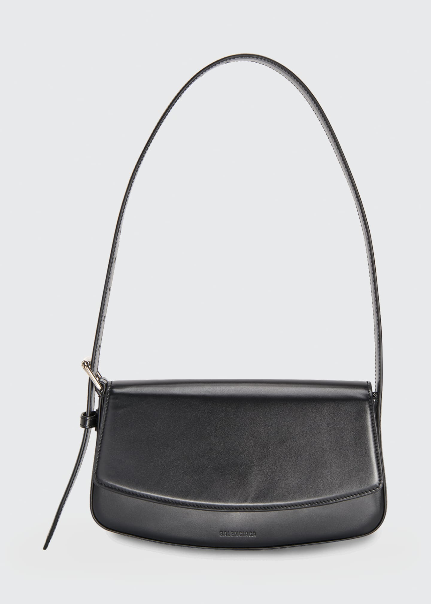 Ghost Flap-Top Shoulder Bag