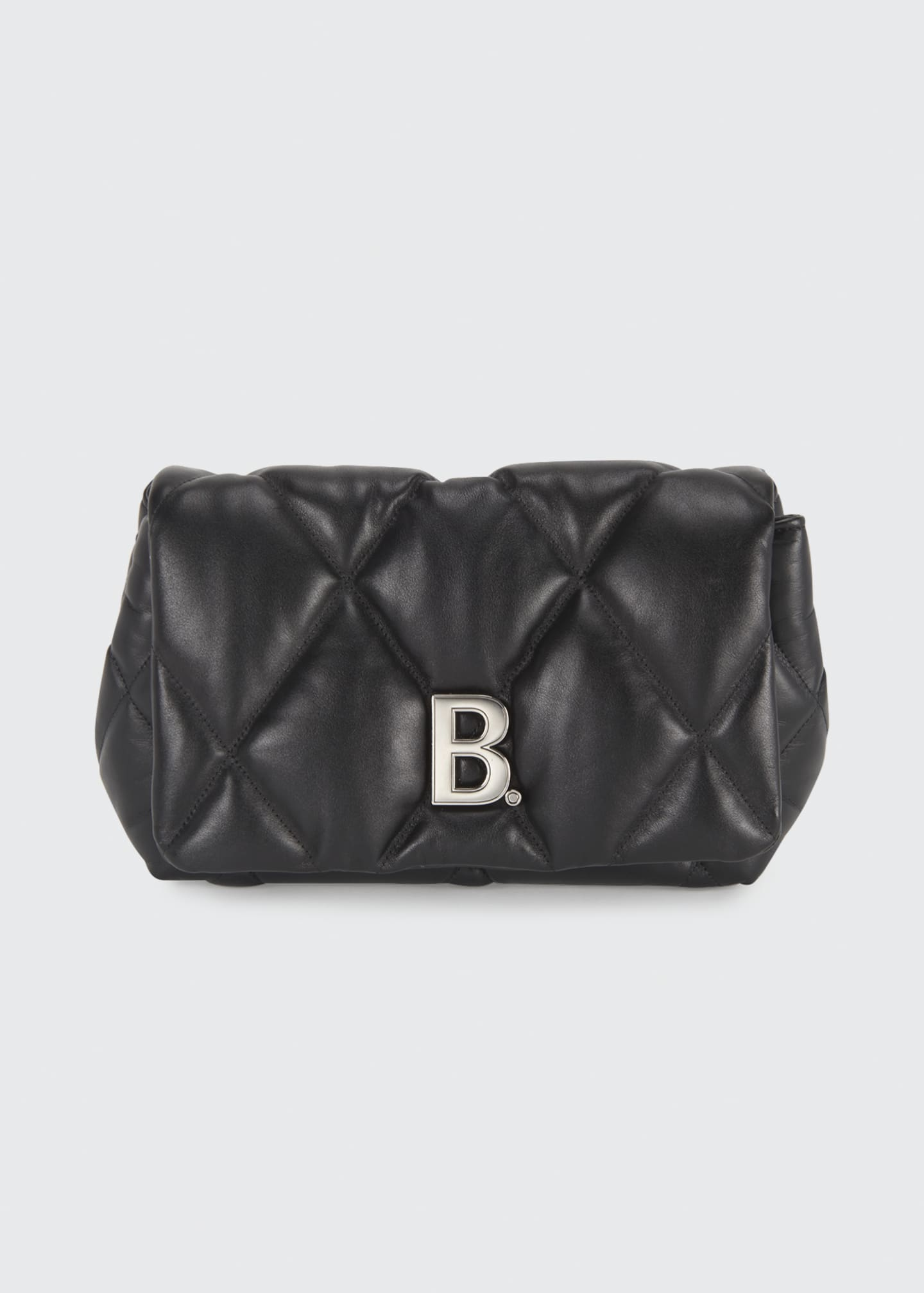 Image 1 of 5: Touch Puffy Medium Quilted Clutch Bag