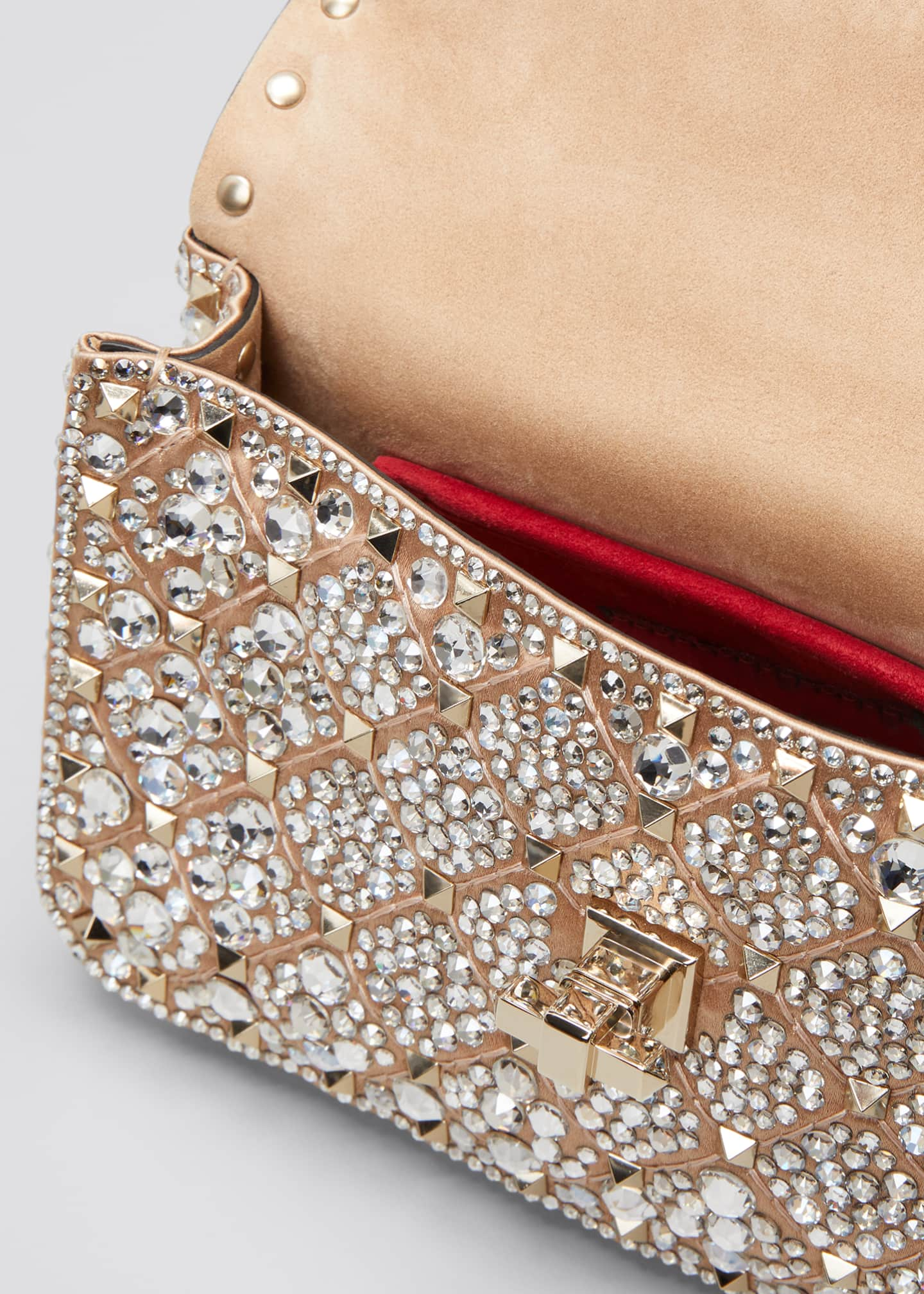 Image 4 of 5: Spike.It Small Embellished Shoulder Bag