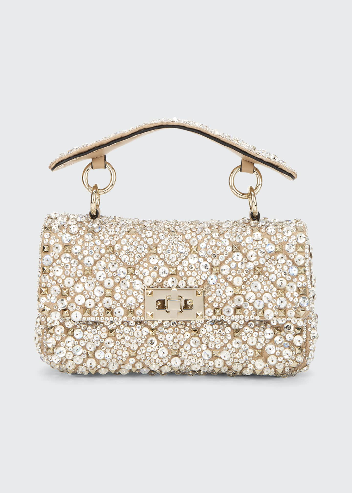 Image 1 of 5: Spike.It Small Embellished Shoulder Bag