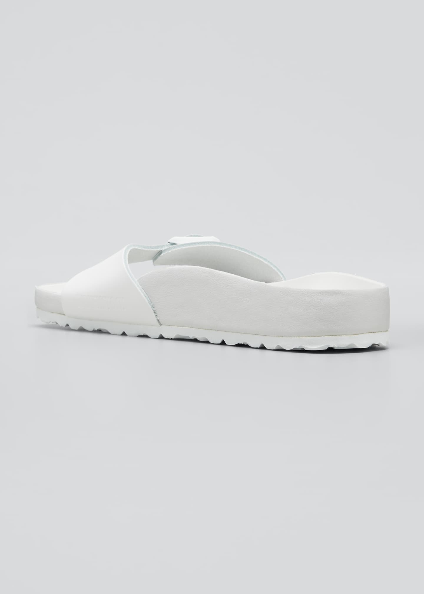 Image 2 of 3: Madrid Tonal Single Buckle Slide Sandals