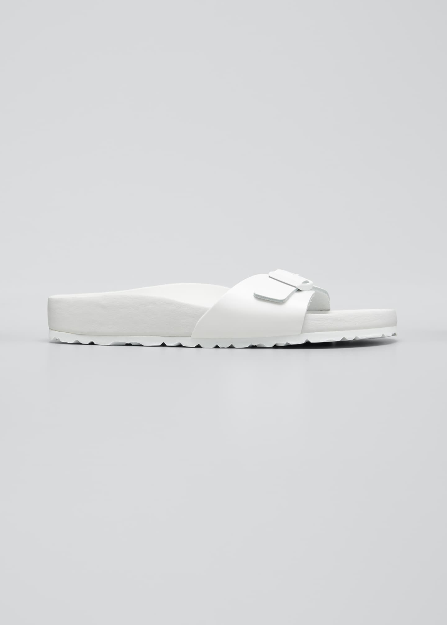Madrid Tonal Single Buckle Slide Sandals