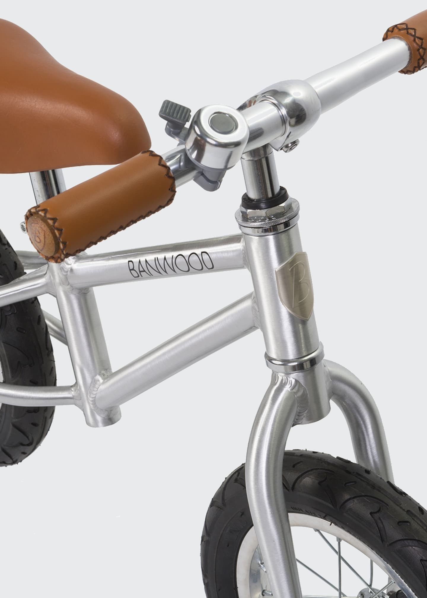 Image 2 of 4: Kid's First Go Balance Bike - Special Edition Chrome