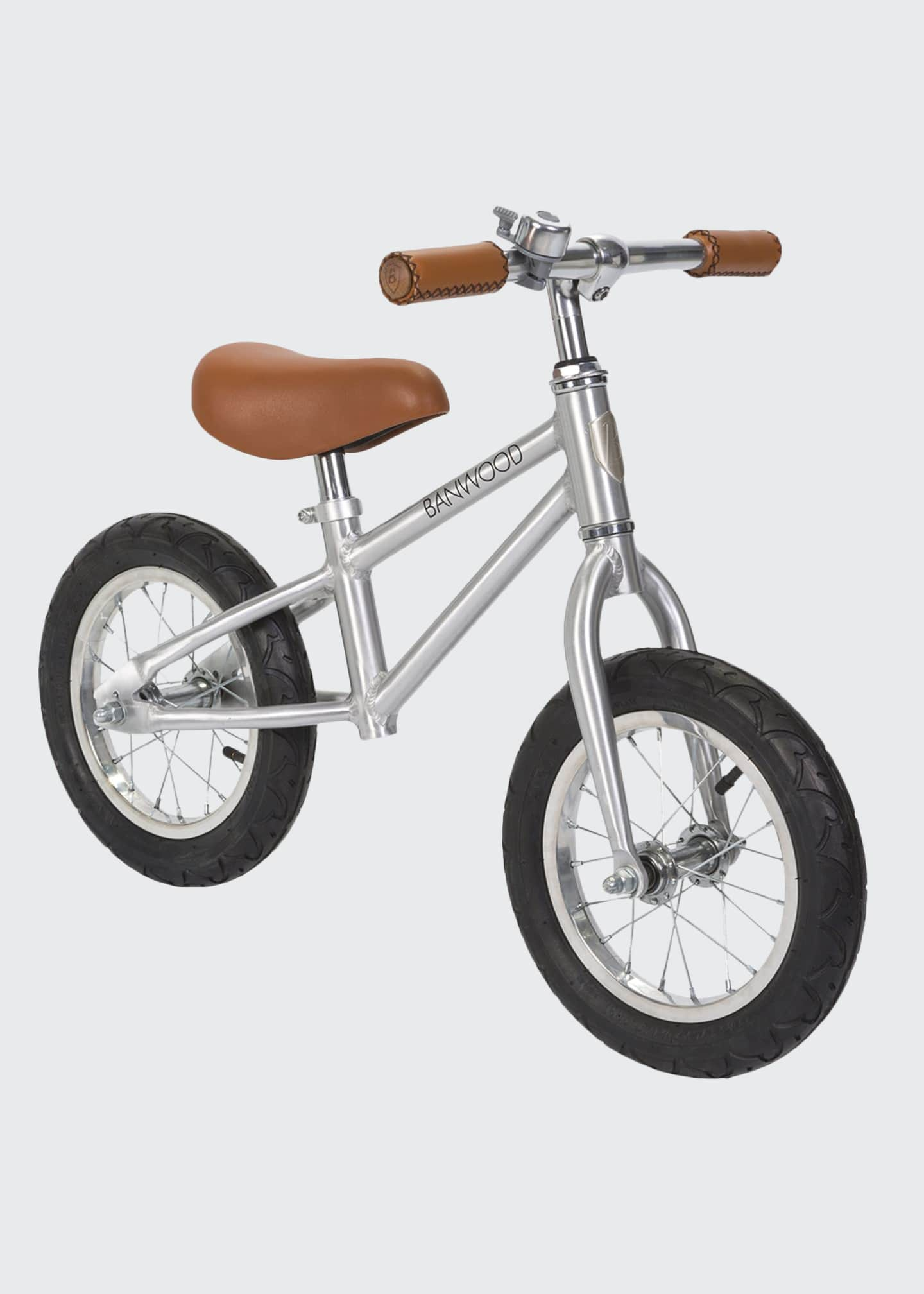Image 1 of 4: Kid's First Go Balance Bike - Special Edition Chrome