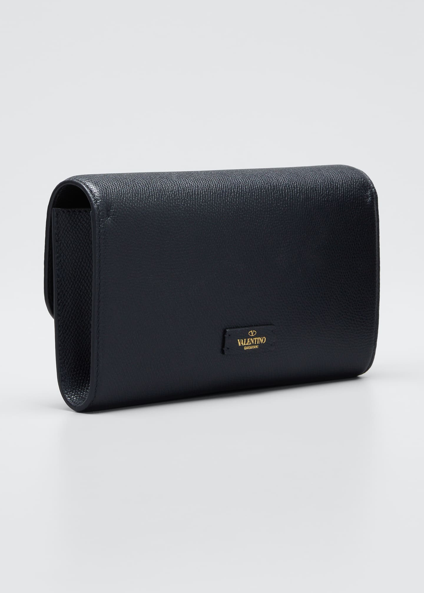 Image 3 of 5: VSLING Grained Calfskin Clutch Bag