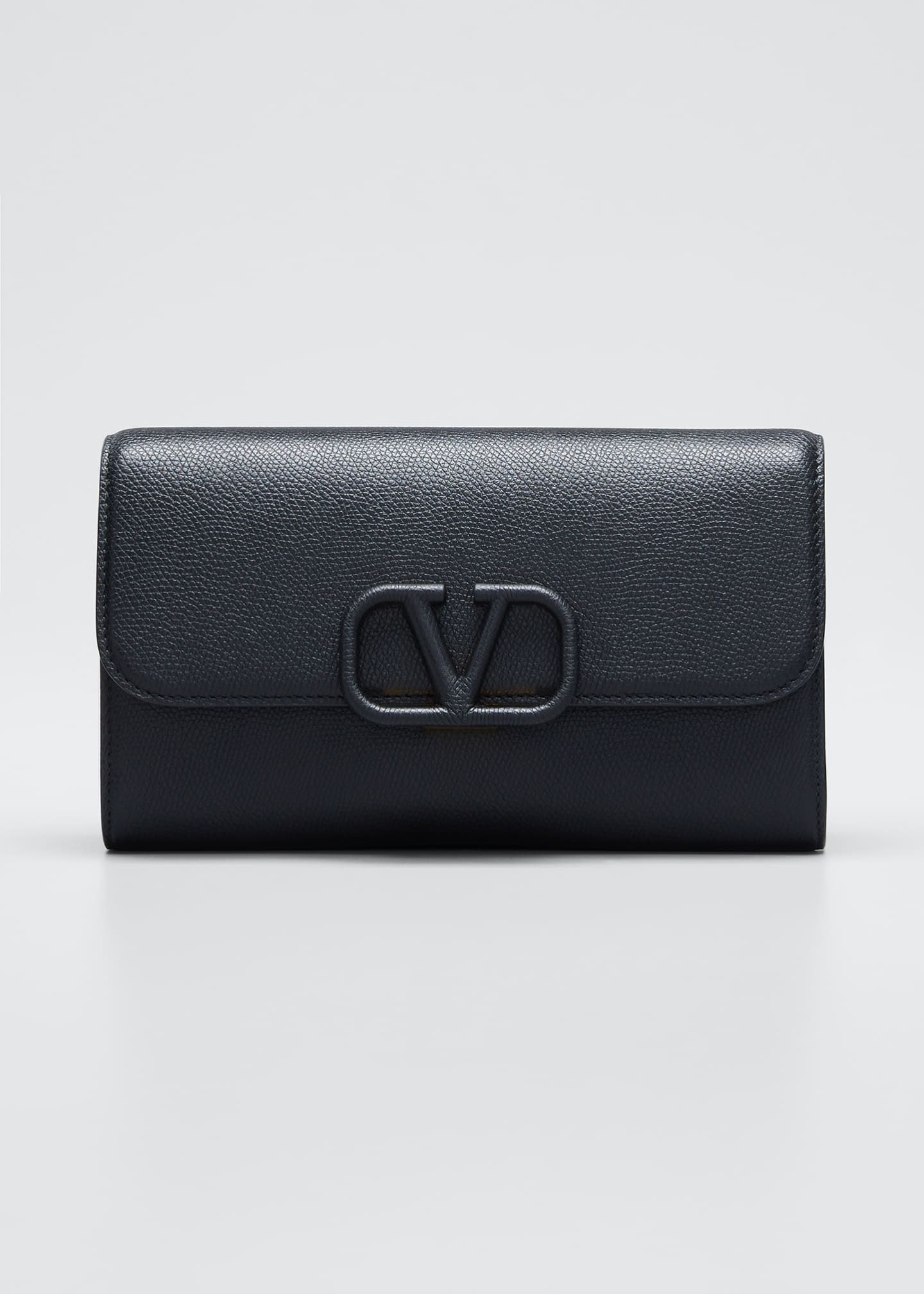 Image 1 of 5: VSLING Grained Calfskin Clutch Bag