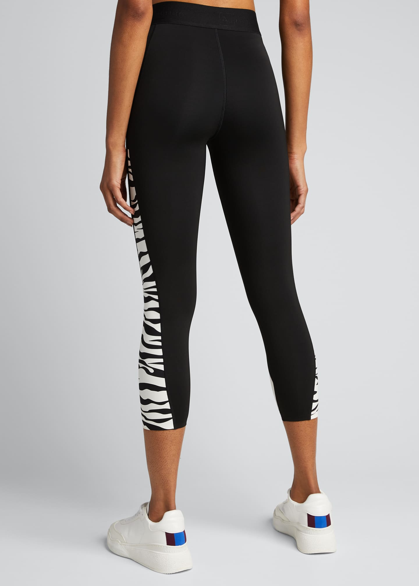 Image 2 of 5: Fearless Zebra Active Leggings