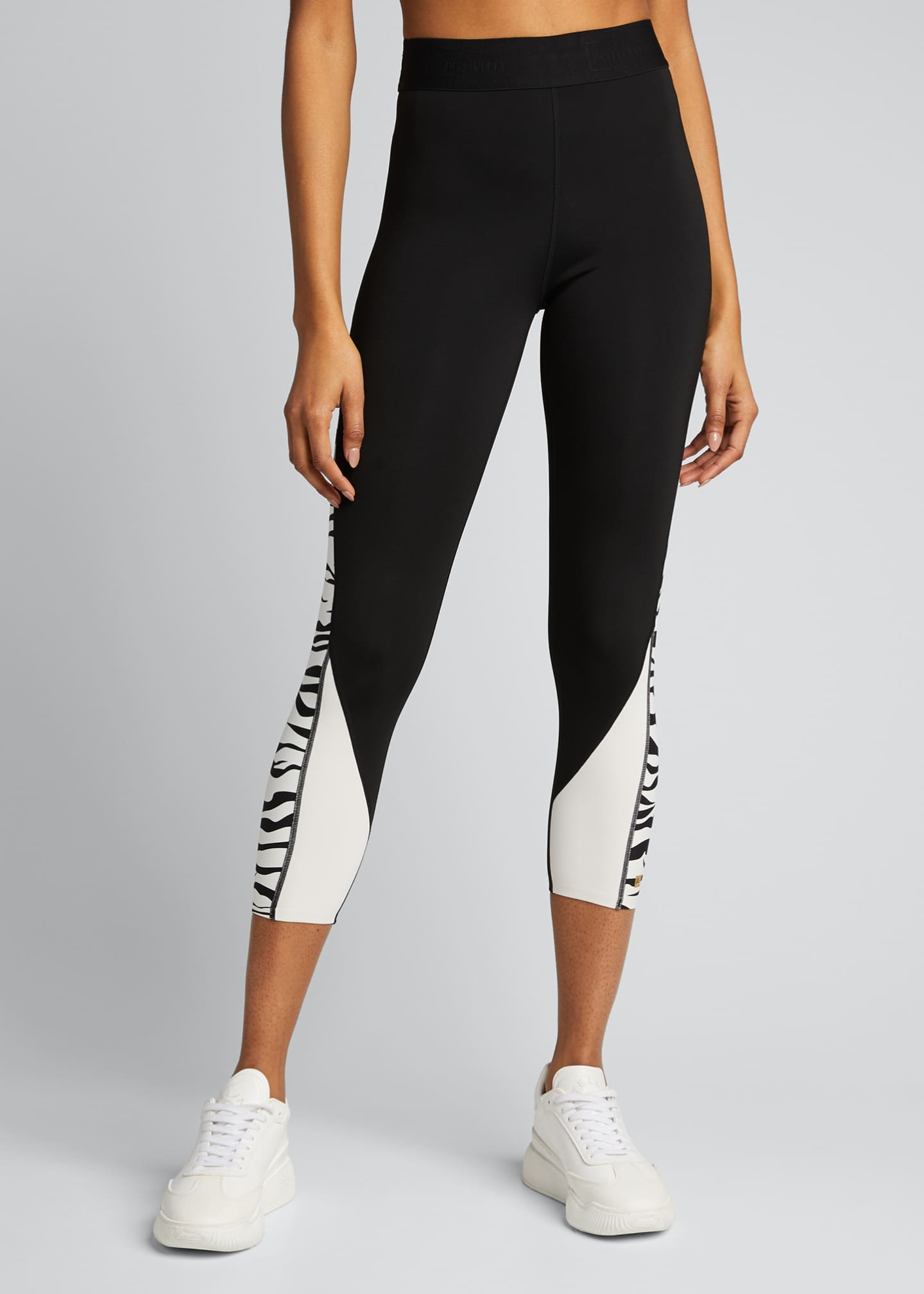 Image 3 of 5: Fearless Zebra Active Leggings