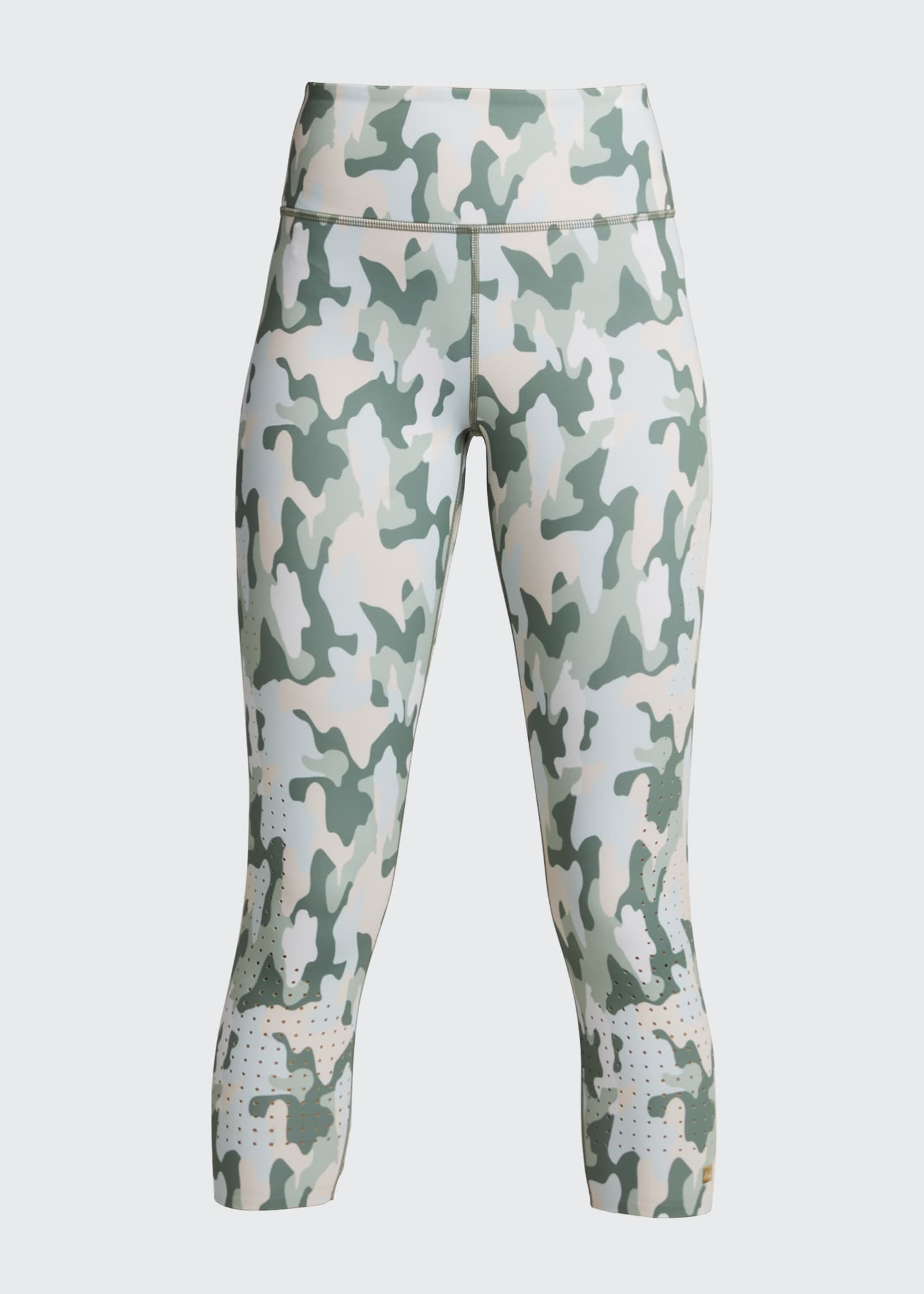 Image 5 of 5: Freedom Camo Active Crop Leggings