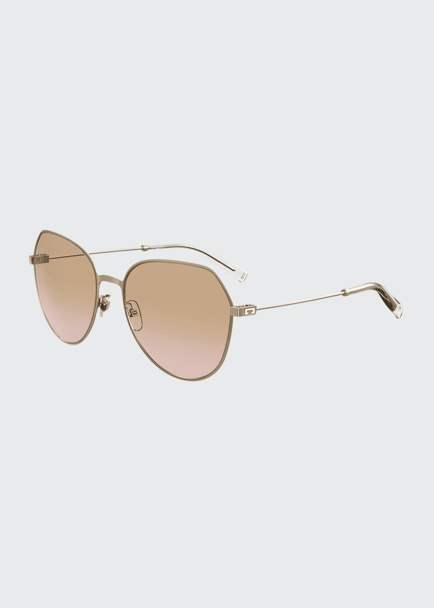 Image 1 of 1: Square Stainless Steel Sunglasses