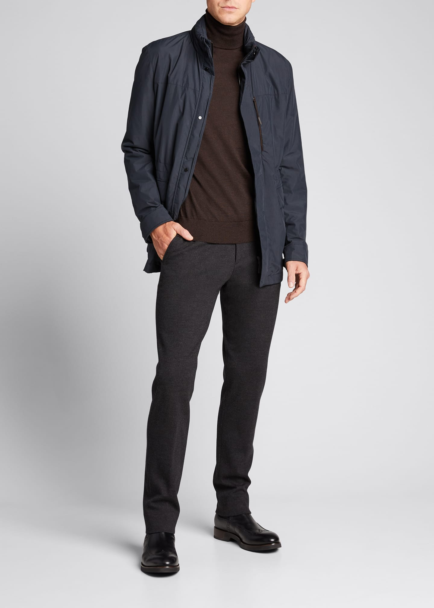 Image 1 of 5: Men's Stratos Nylon Field Jacket
