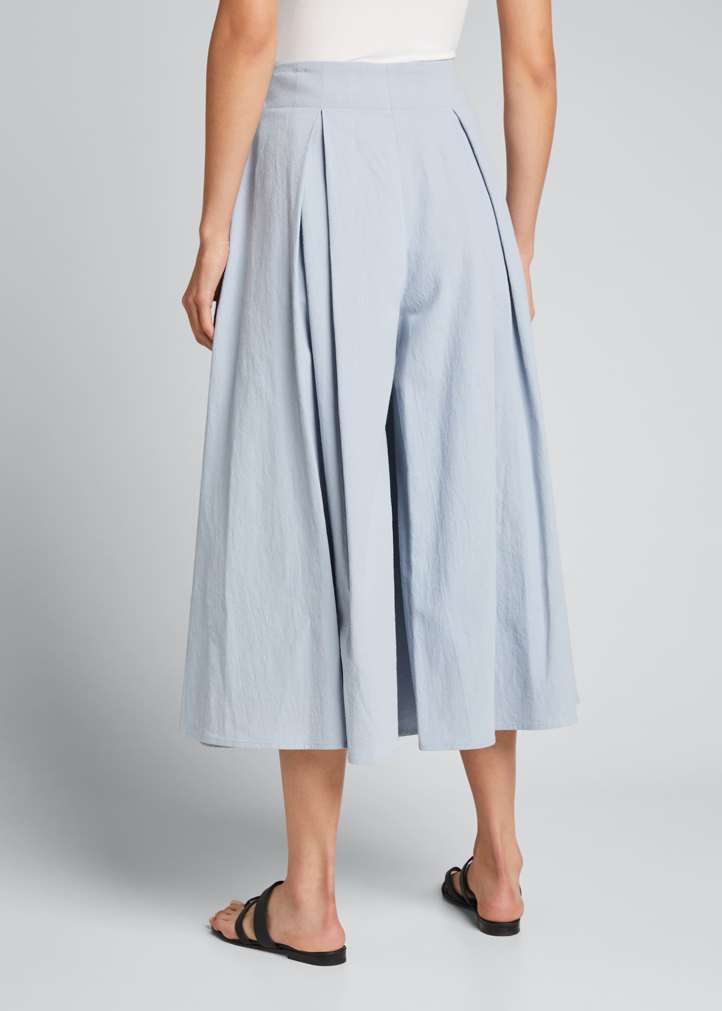 Image 2 of 5: Cordella Pleated Culotte Pants