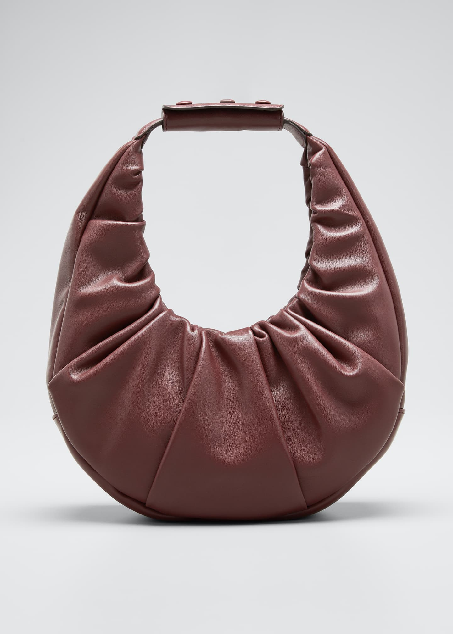 Image 1 of 5: Soft Pleated Moon Shoulder Bag
