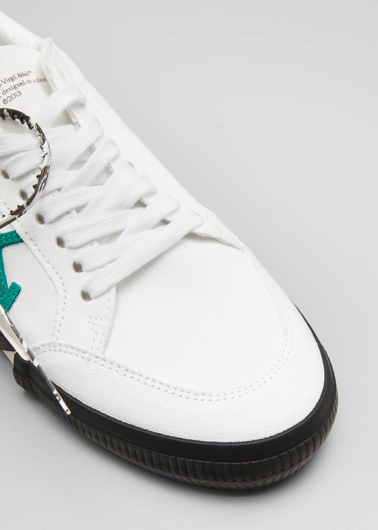 Image 5 of 5: Men's Arrow Vulcanized Canvas Sneakers