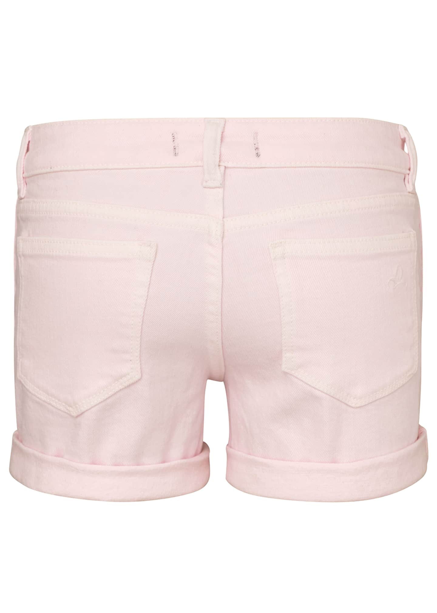 Image 2 of 2: Girl's Piper Cuffed Shorts, Size 7-16