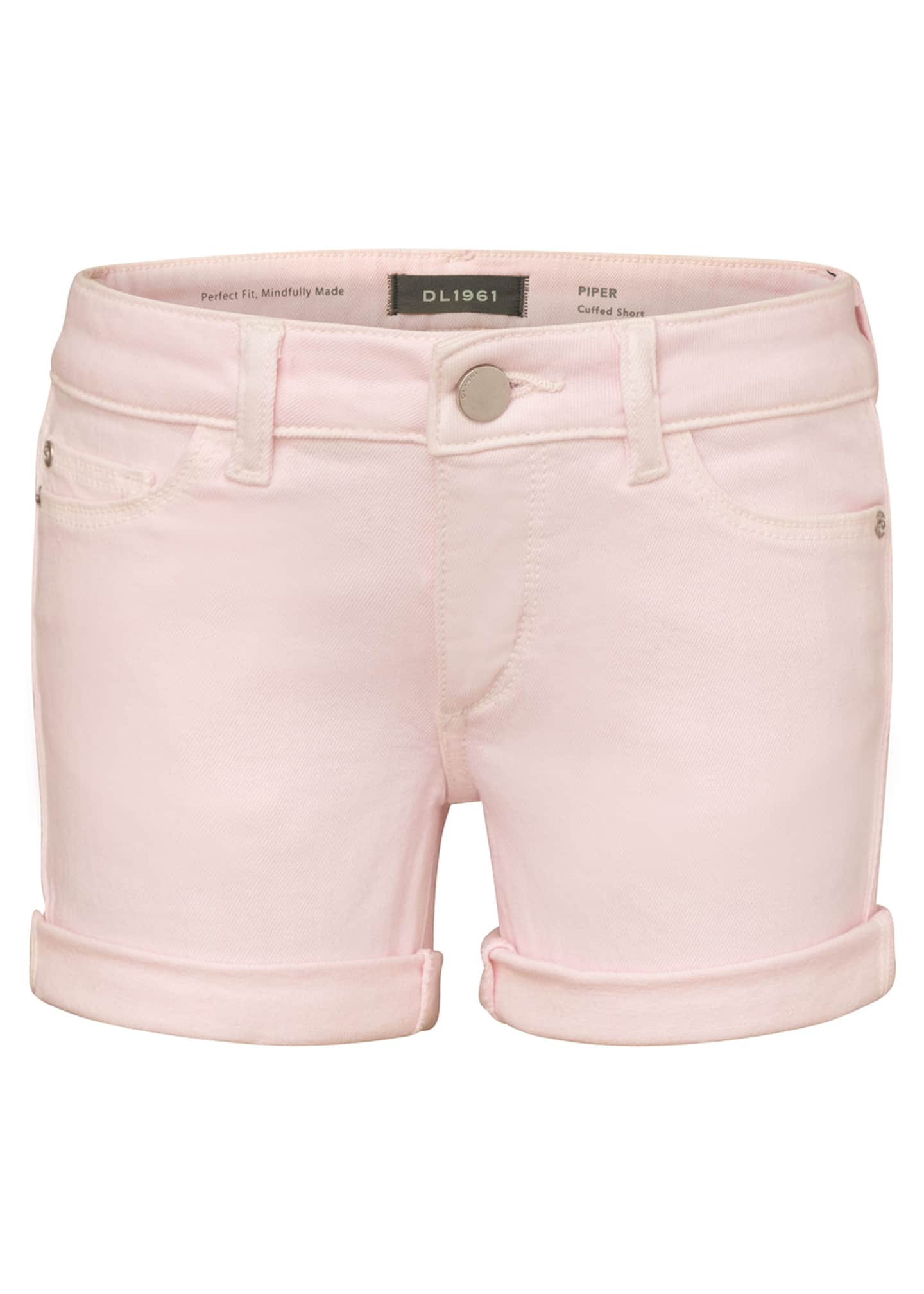 Image 1 of 2: Girl's Piper Cuffed Shorts, Size 7-16