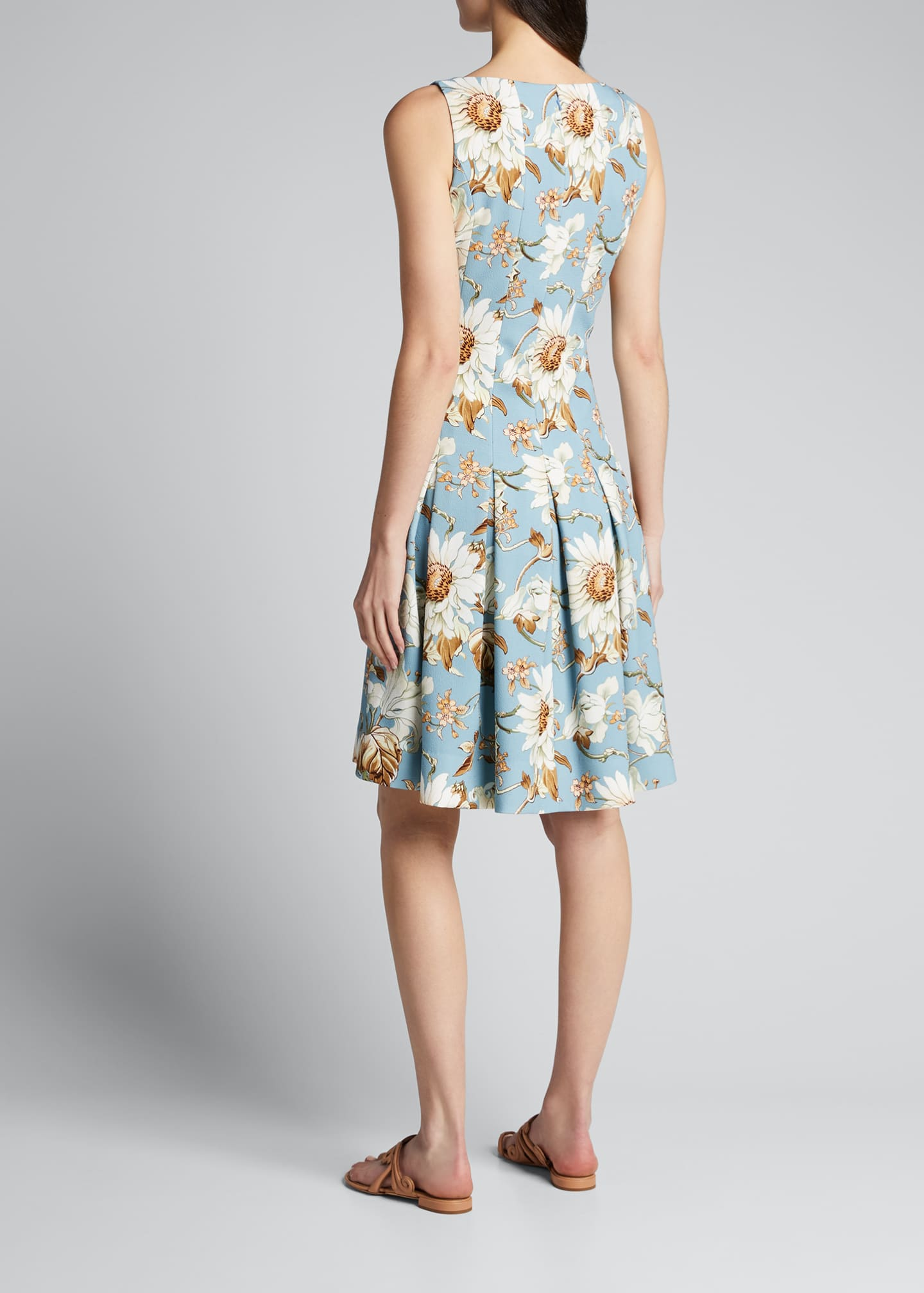 Image 2 of 5: Floral-Print Day Dress