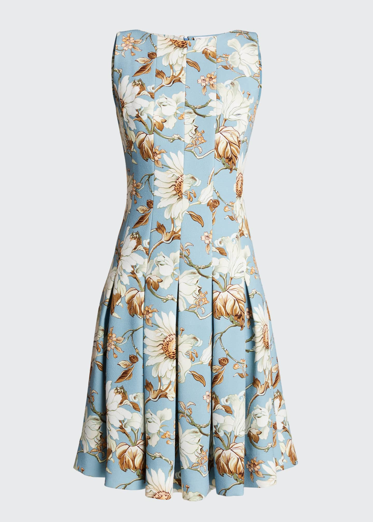 Image 5 of 5: Floral-Print Day Dress
