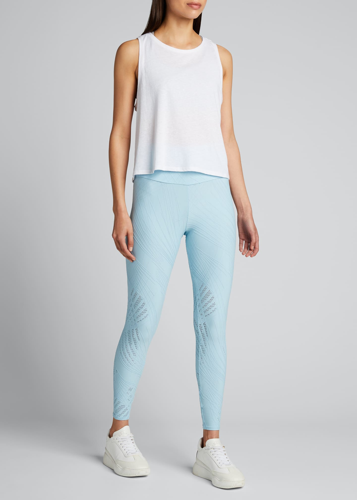 Image 1 of 5: Selenite High-Rise Midi Leggings