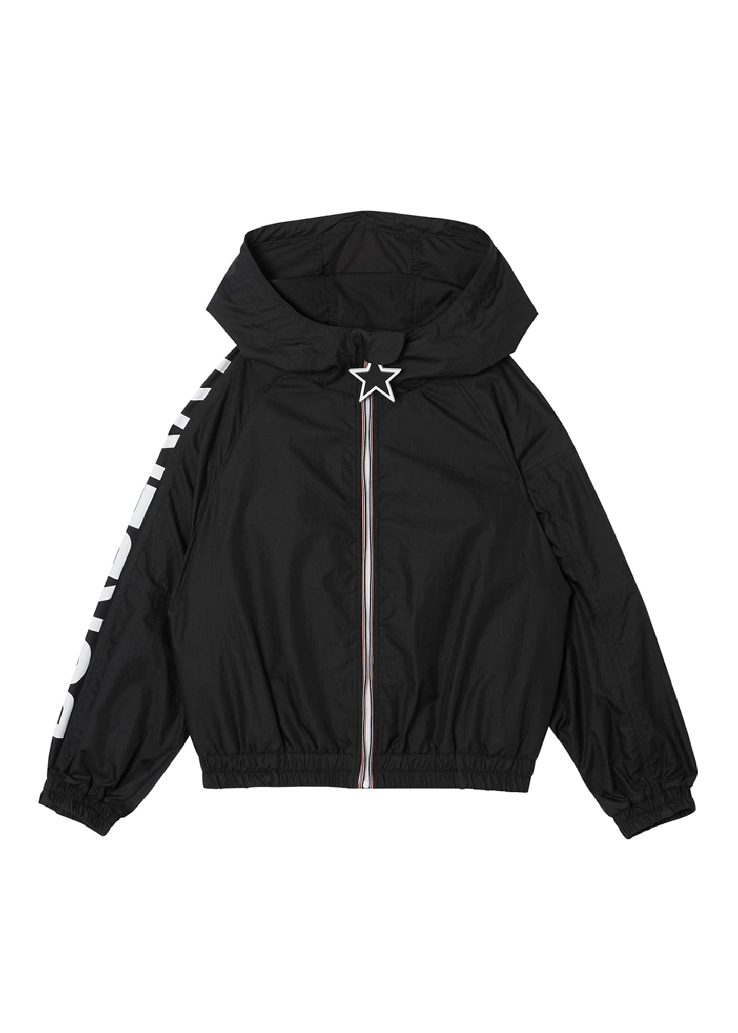 Image 1 of 4: Girl's Thorley Wind-Resistant Hooded Jacket, Size 3-14