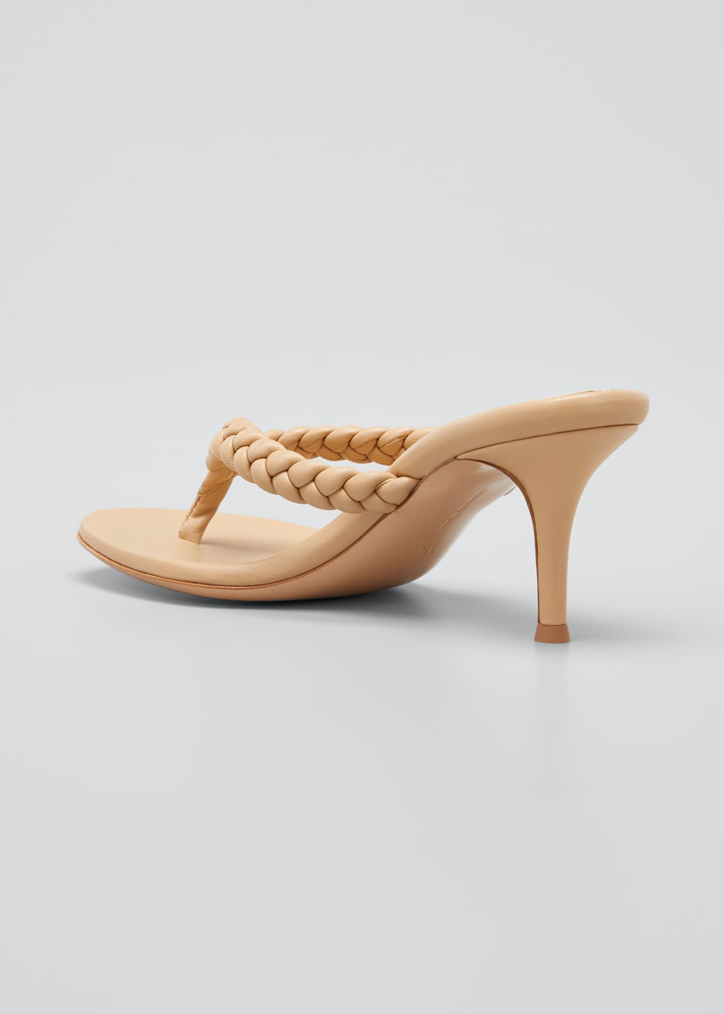 Image 4 of 5: Tropea 70mm Braided Thong Sandals