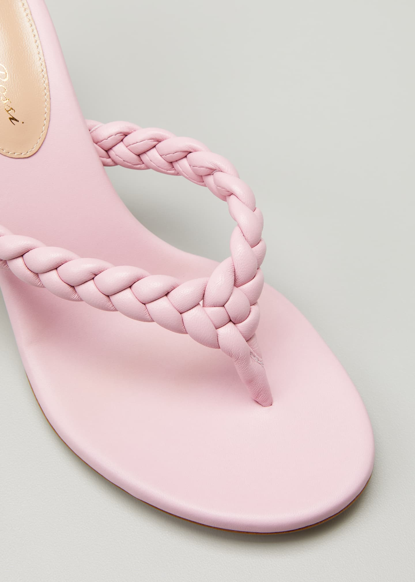 Image 5 of 5: Tropea 70mm Braided Thong Sandals