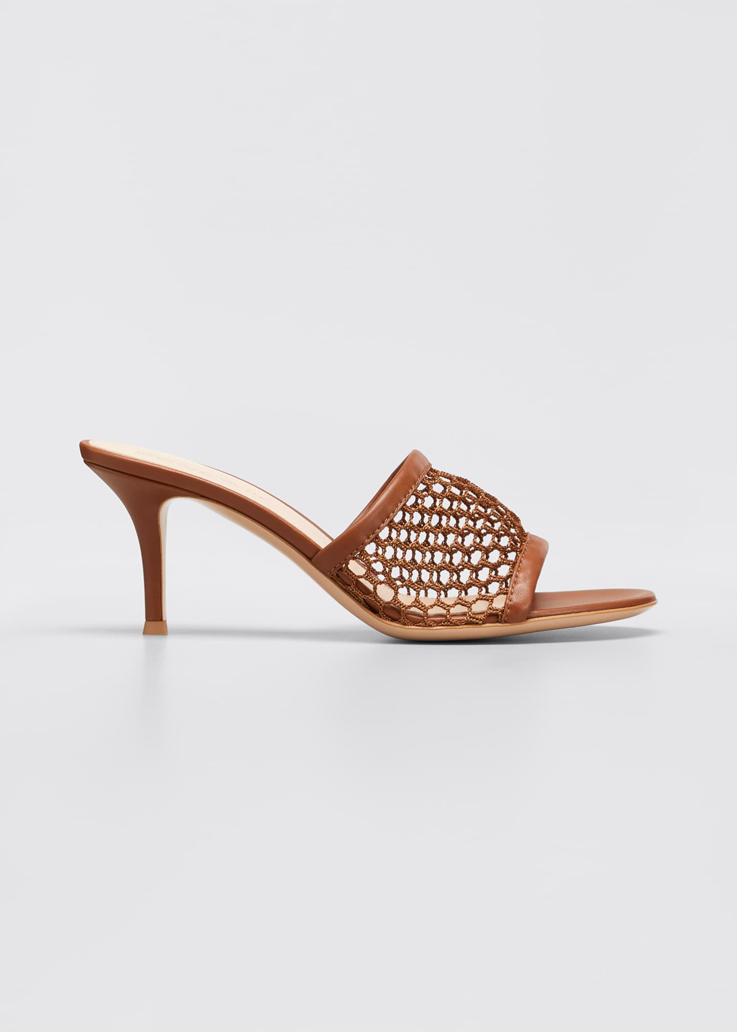Image 1 of 5: 70mm Napa Mesh Heel Mules