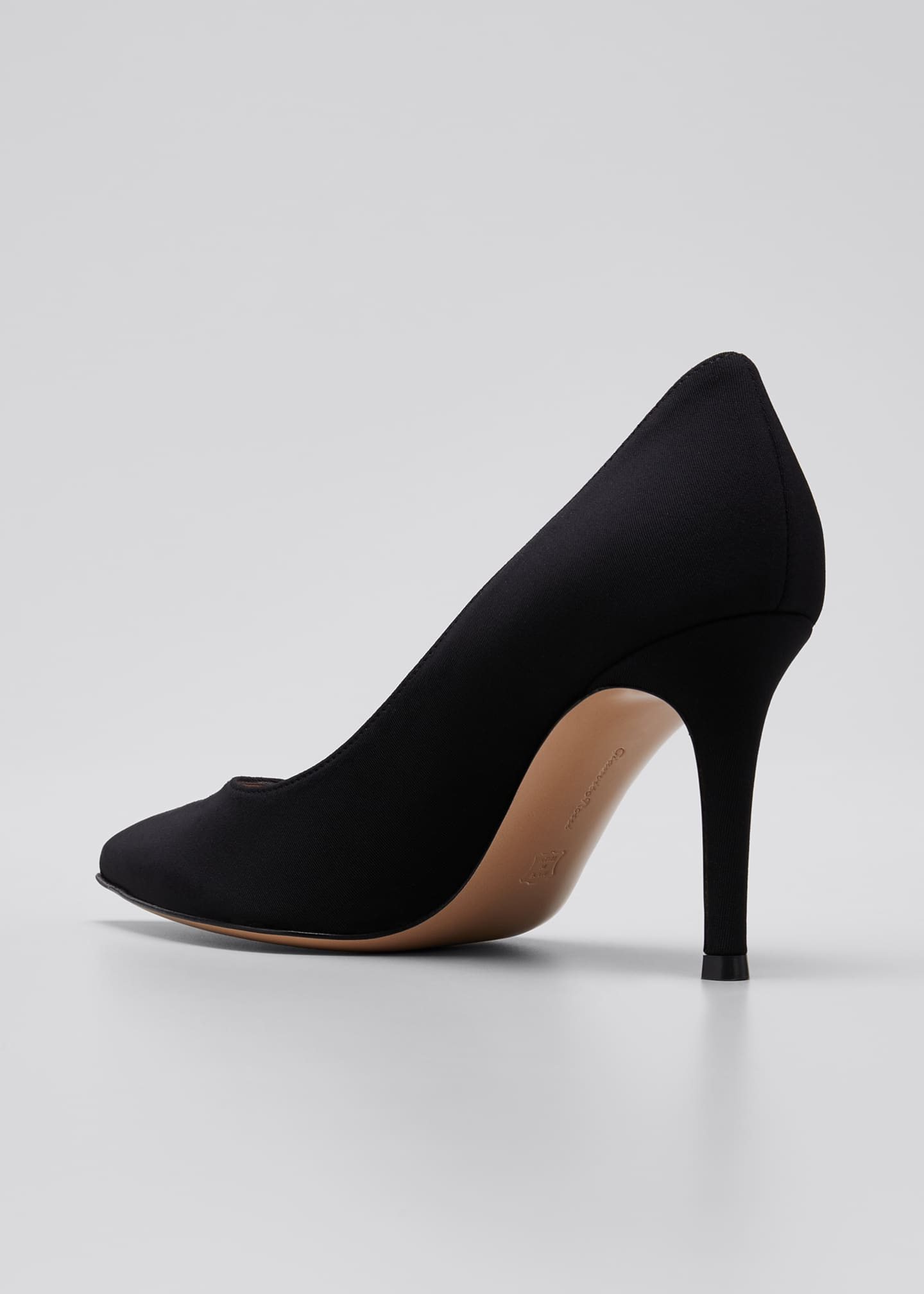 Image 2 of 3: Gianvito 85mm Osaka Point-Toe Pumps