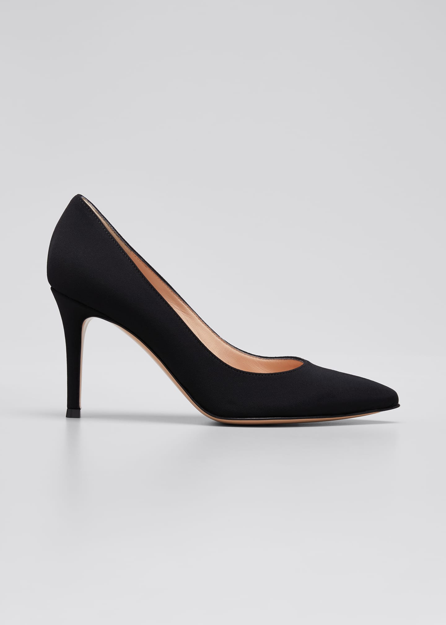 Image 1 of 3: Gianvito 85mm Osaka Point-Toe Pumps