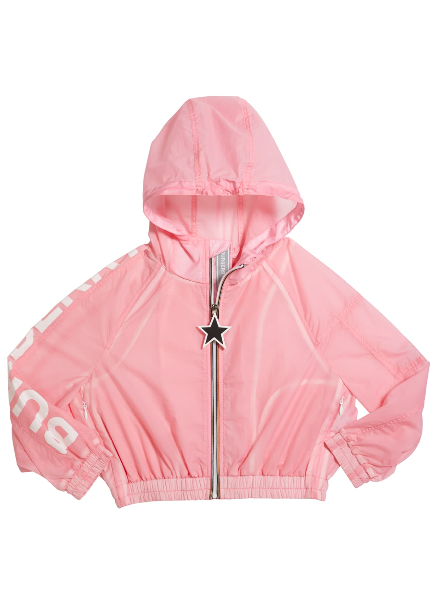 Image 1 of 1: Girl's Thorley Nylon Wind Jacket, Size 3-14