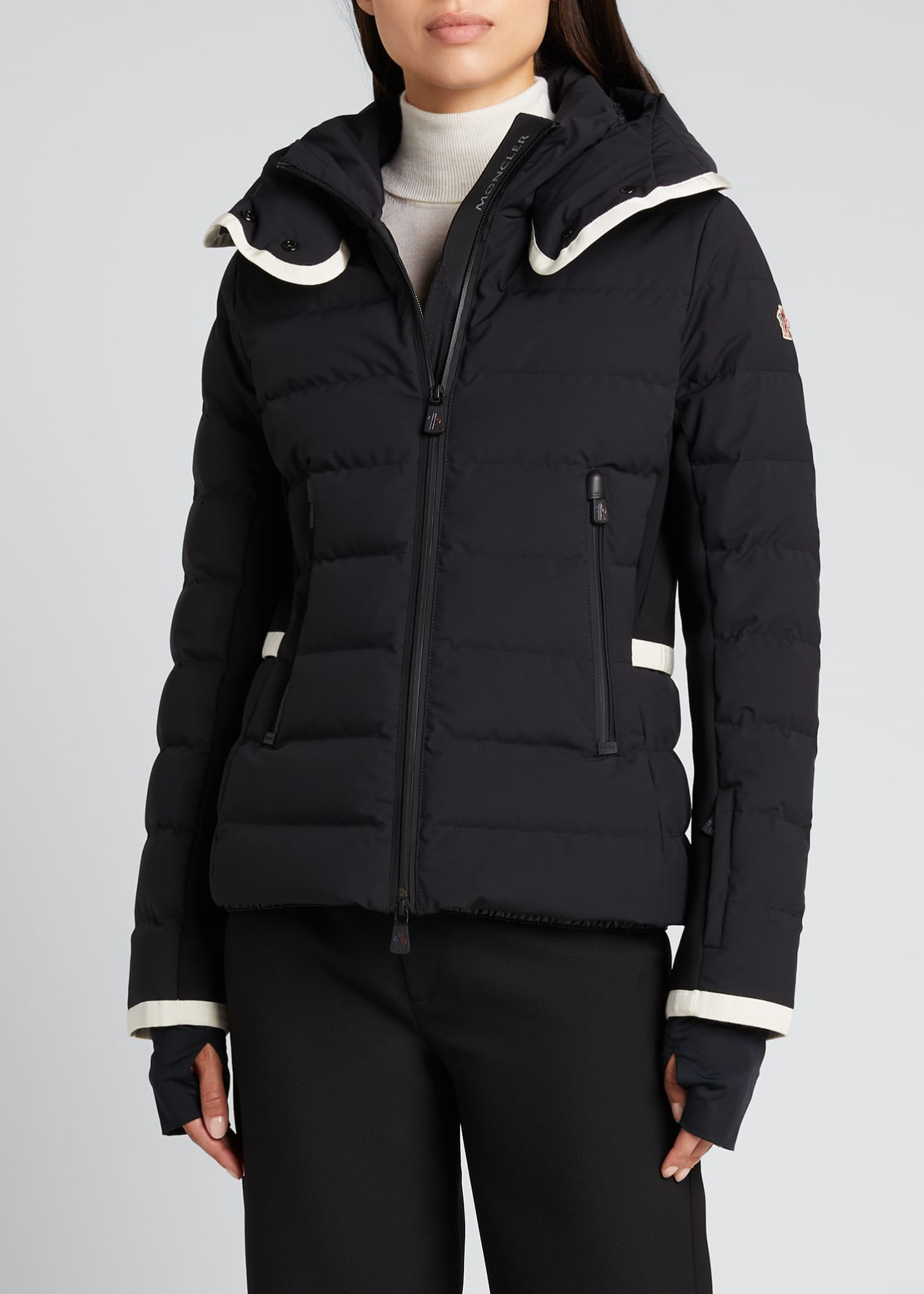 Image 3 of 5: Lamoura Fitted Down Ski Jacket